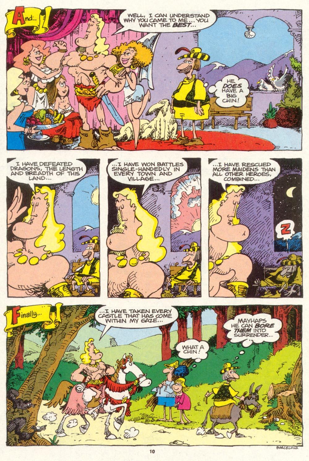 Read online Sergio Aragonés Groo the Wanderer comic -  Issue #89 - 11