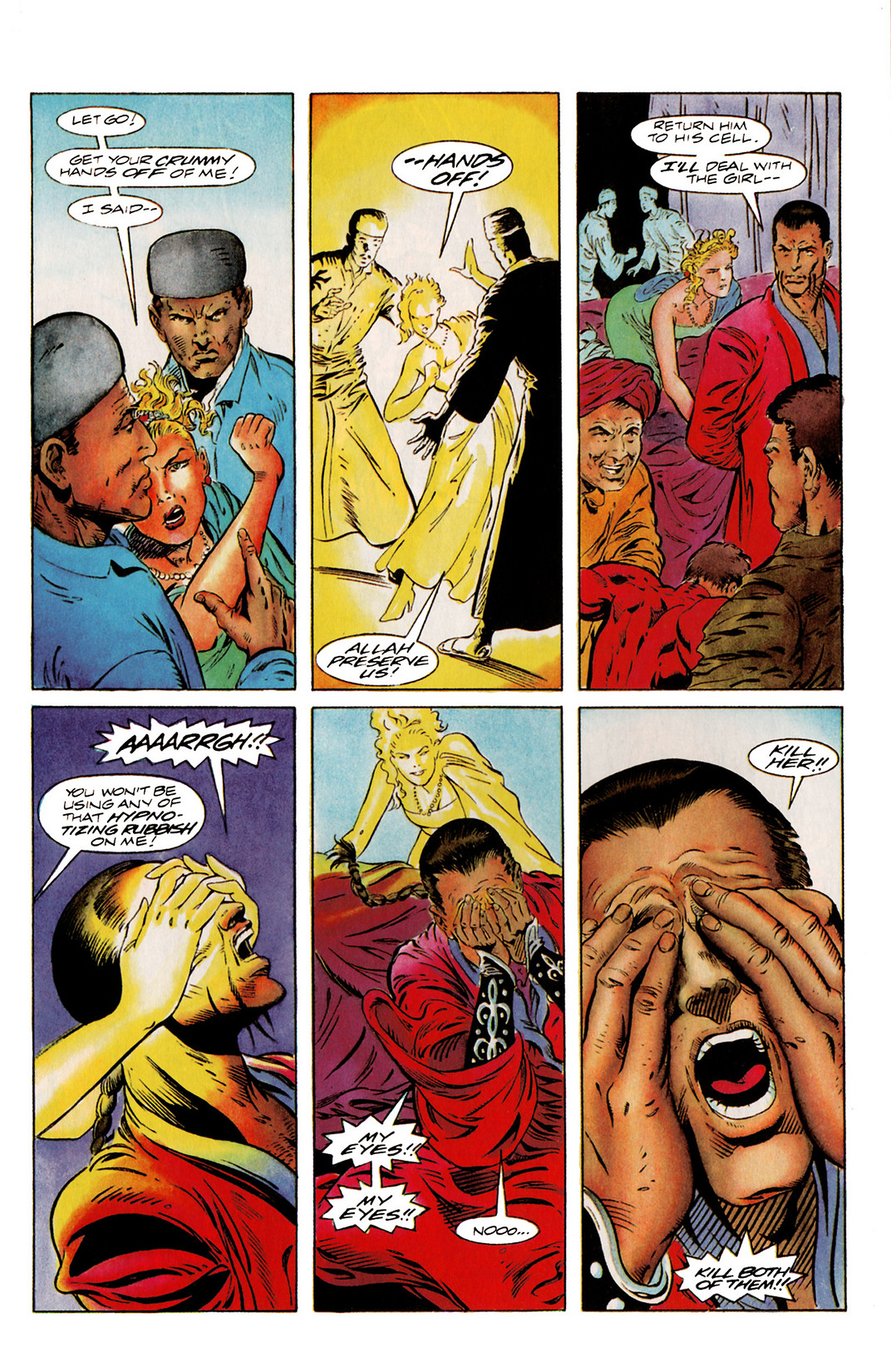 Read online Harbinger (1992) comic -  Issue #20 - 18