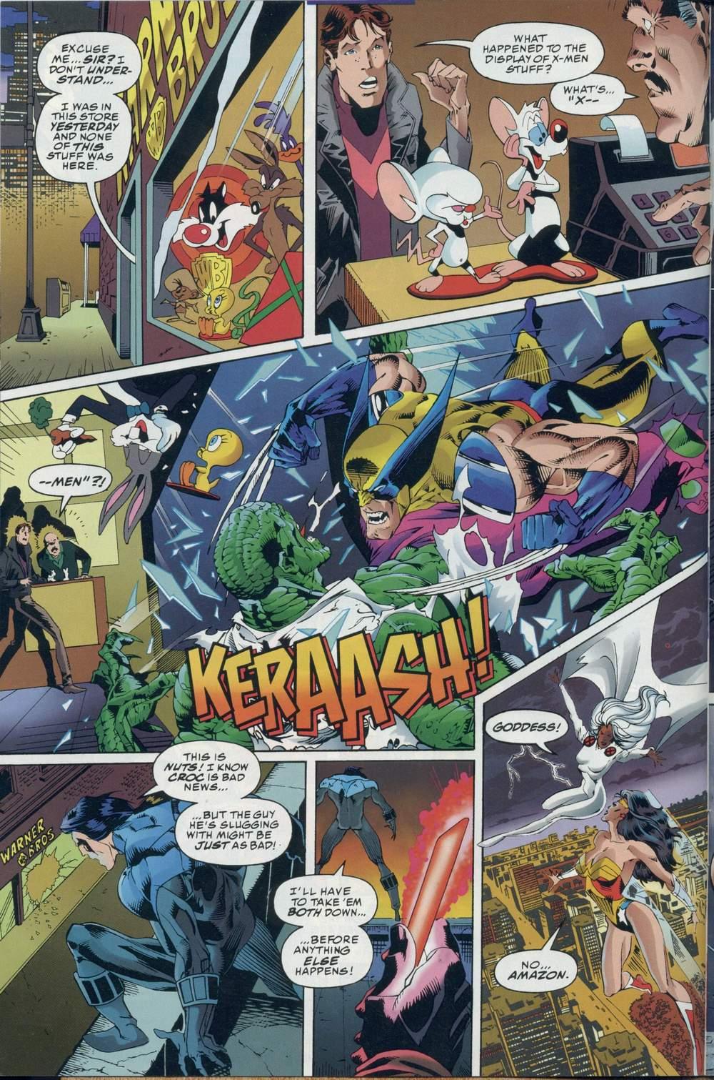 Read online DC Versus Marvel Comics comic -  Issue #2 - 8