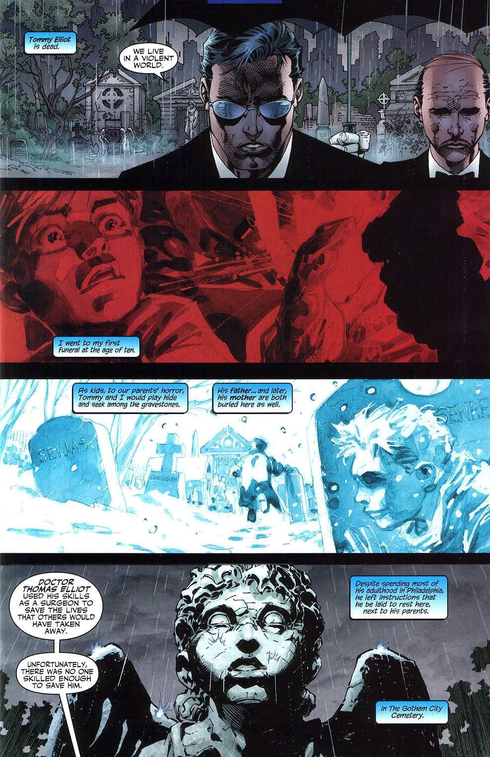 Read online Batman: Hush comic -  Issue #8 - 2