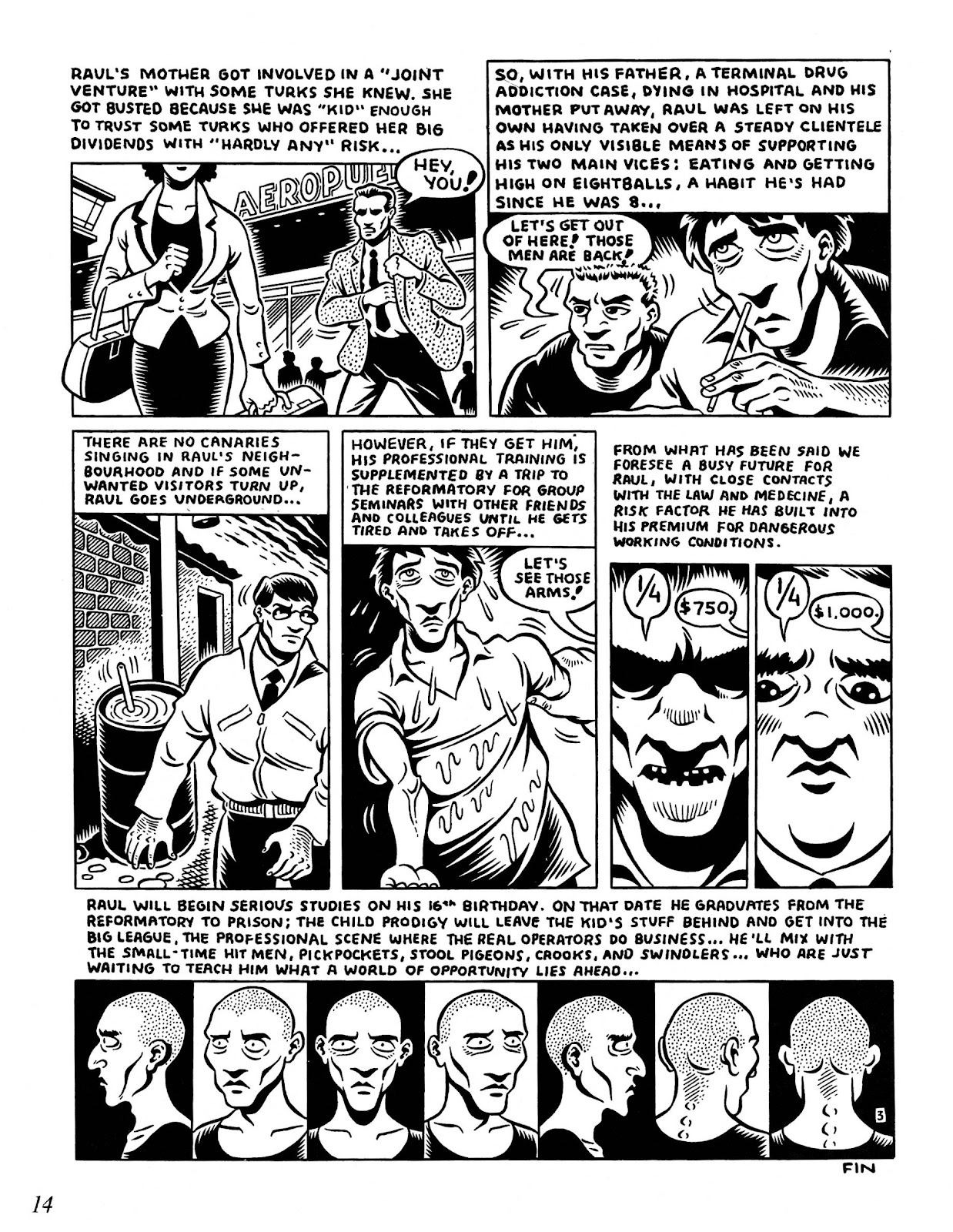 Drawn & Quarterly (1990) issue 8 - Page 16