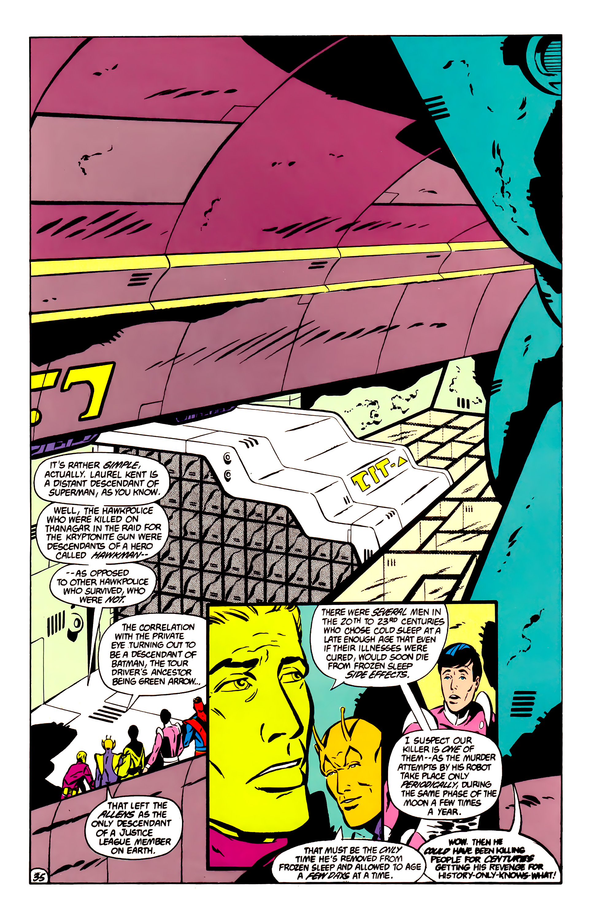 Legion of Super-Heroes (1984) _Annual_1 Page 36