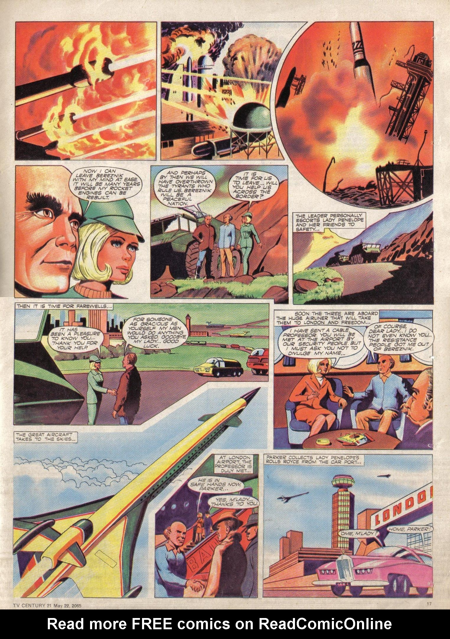 Read online TV Century 21 (TV 21) comic -  Issue #18 - 17