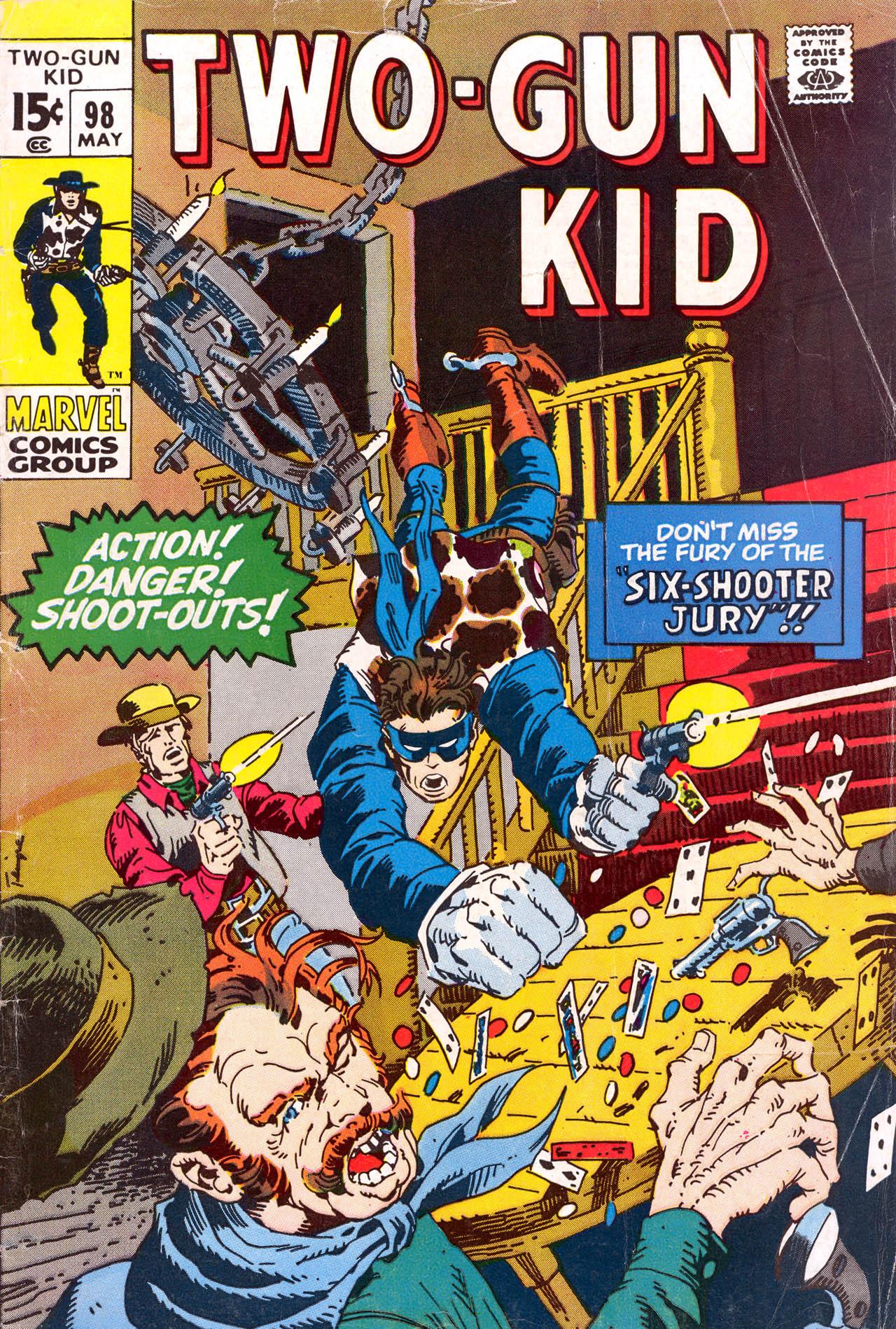Read online Two-Gun Kid comic -  Issue #98 - 1