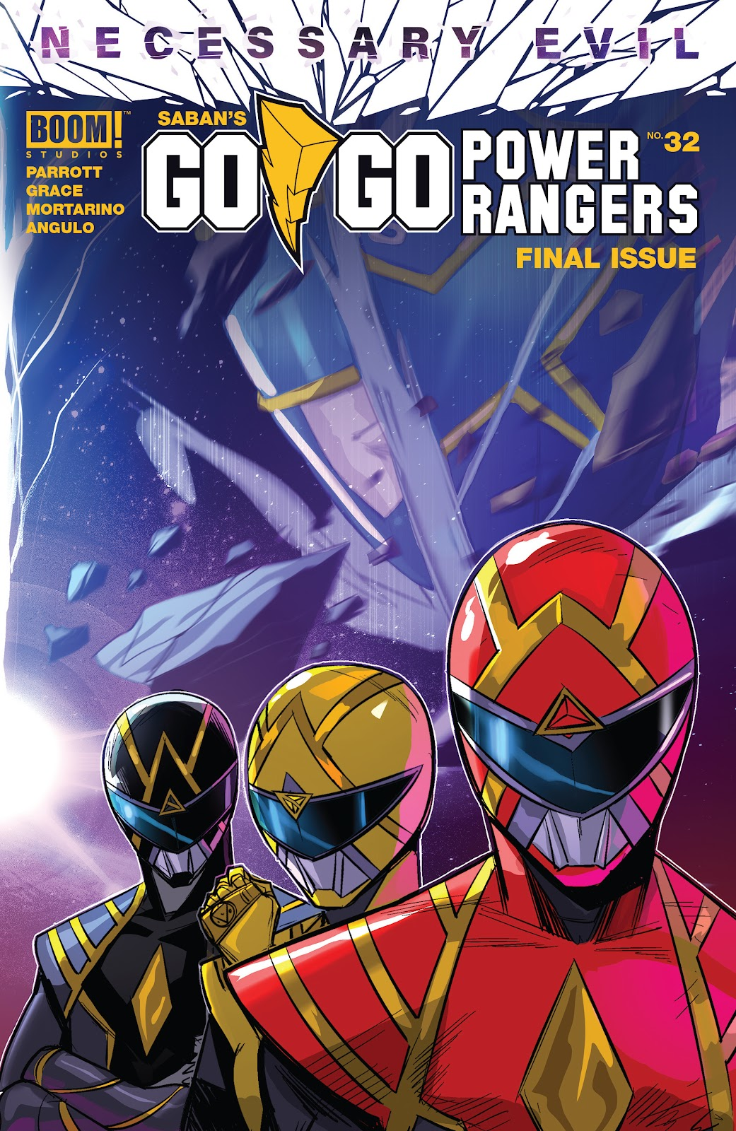 Sabans Go Go Power Rangers issue 32 - Page 1