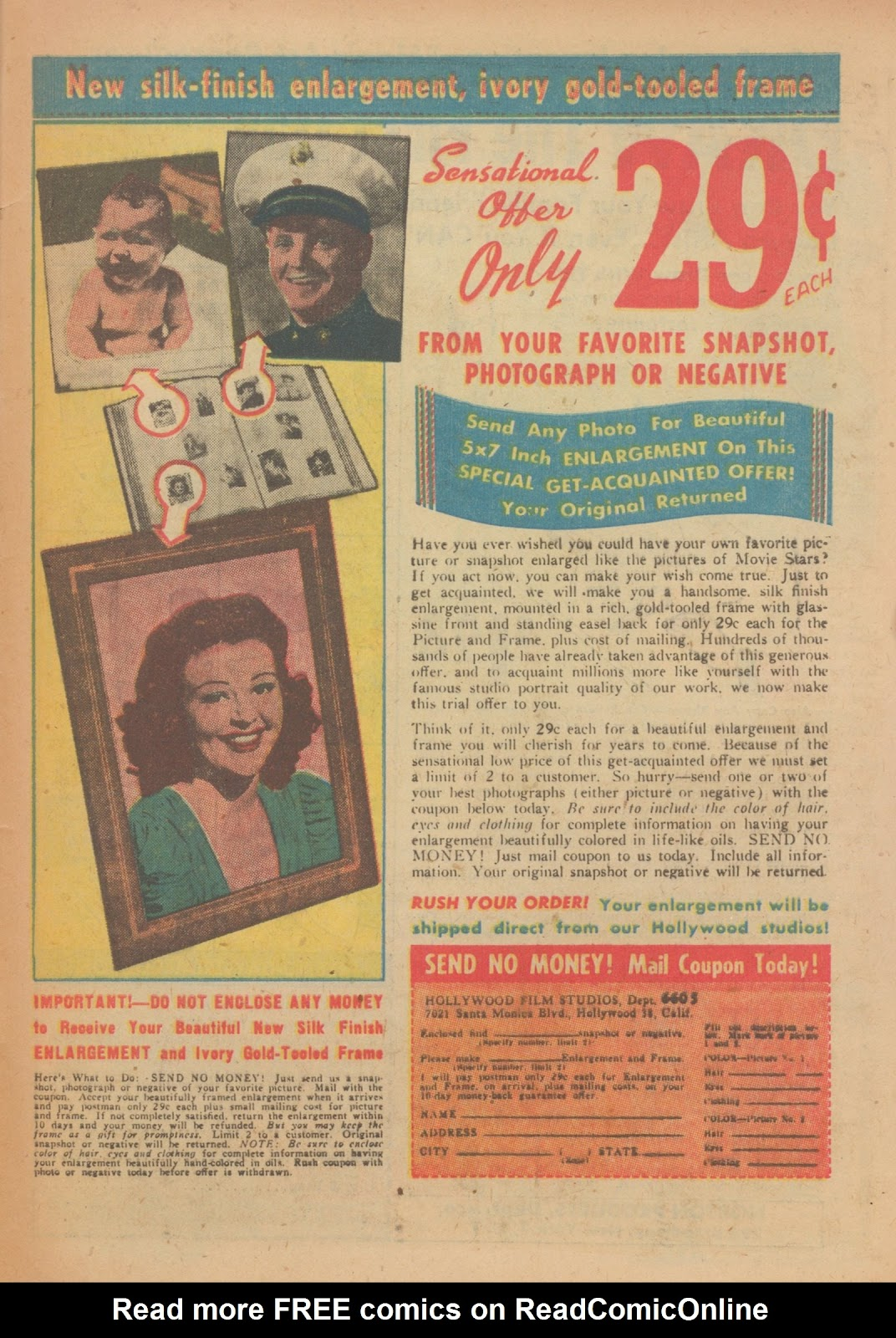 Read online Nellie The Nurse (1945) comic -  Issue #33 - 33
