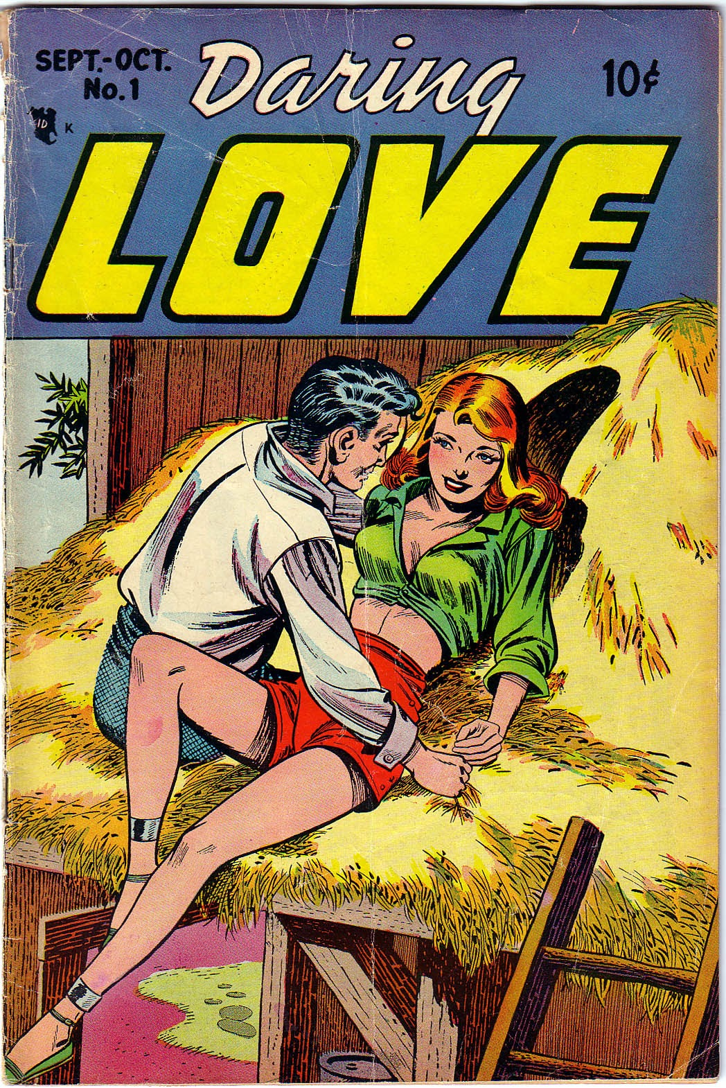 Daring Love issue Full - Page 1