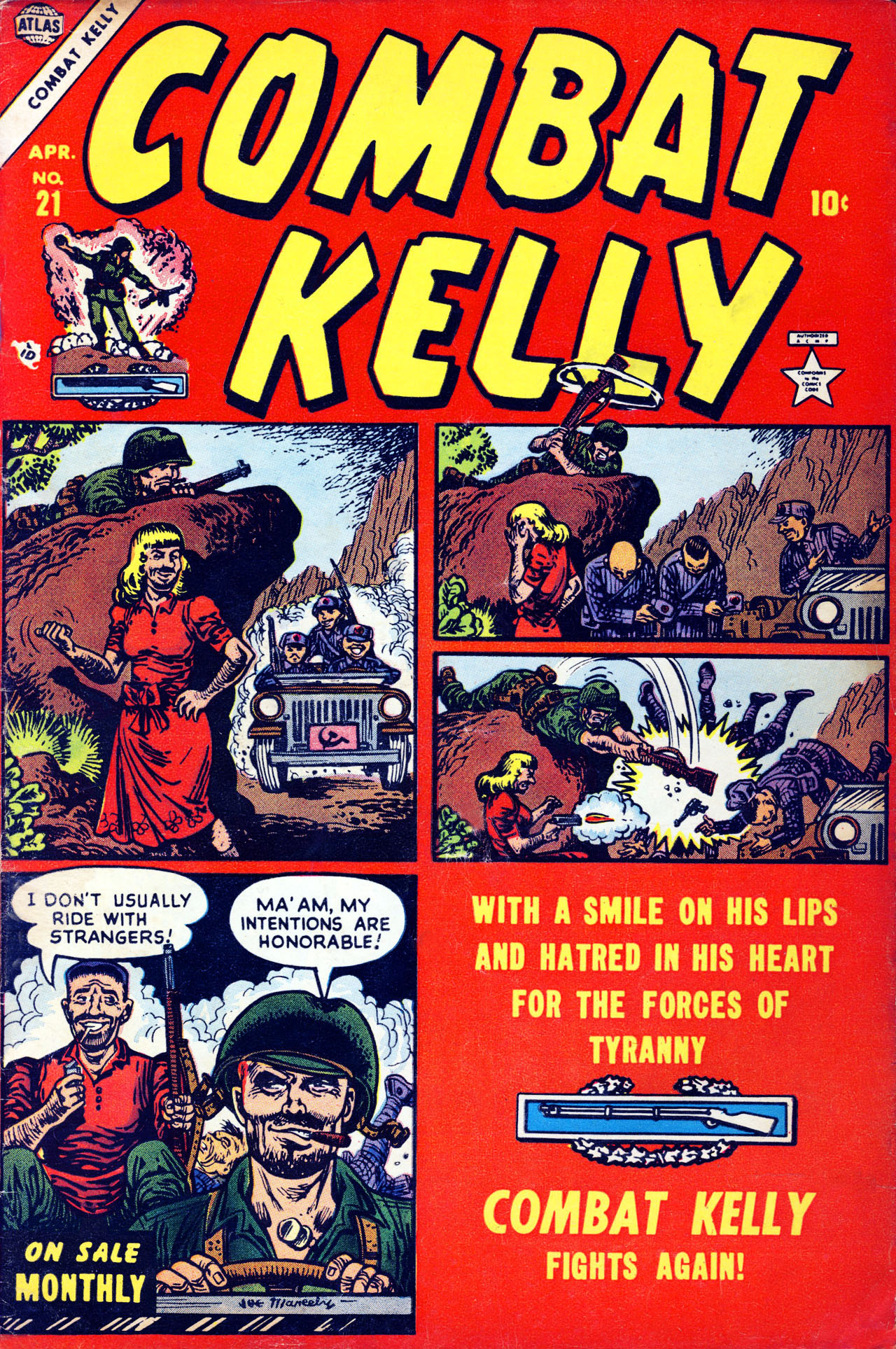 Combat Kelly (1951) 21 Page 1