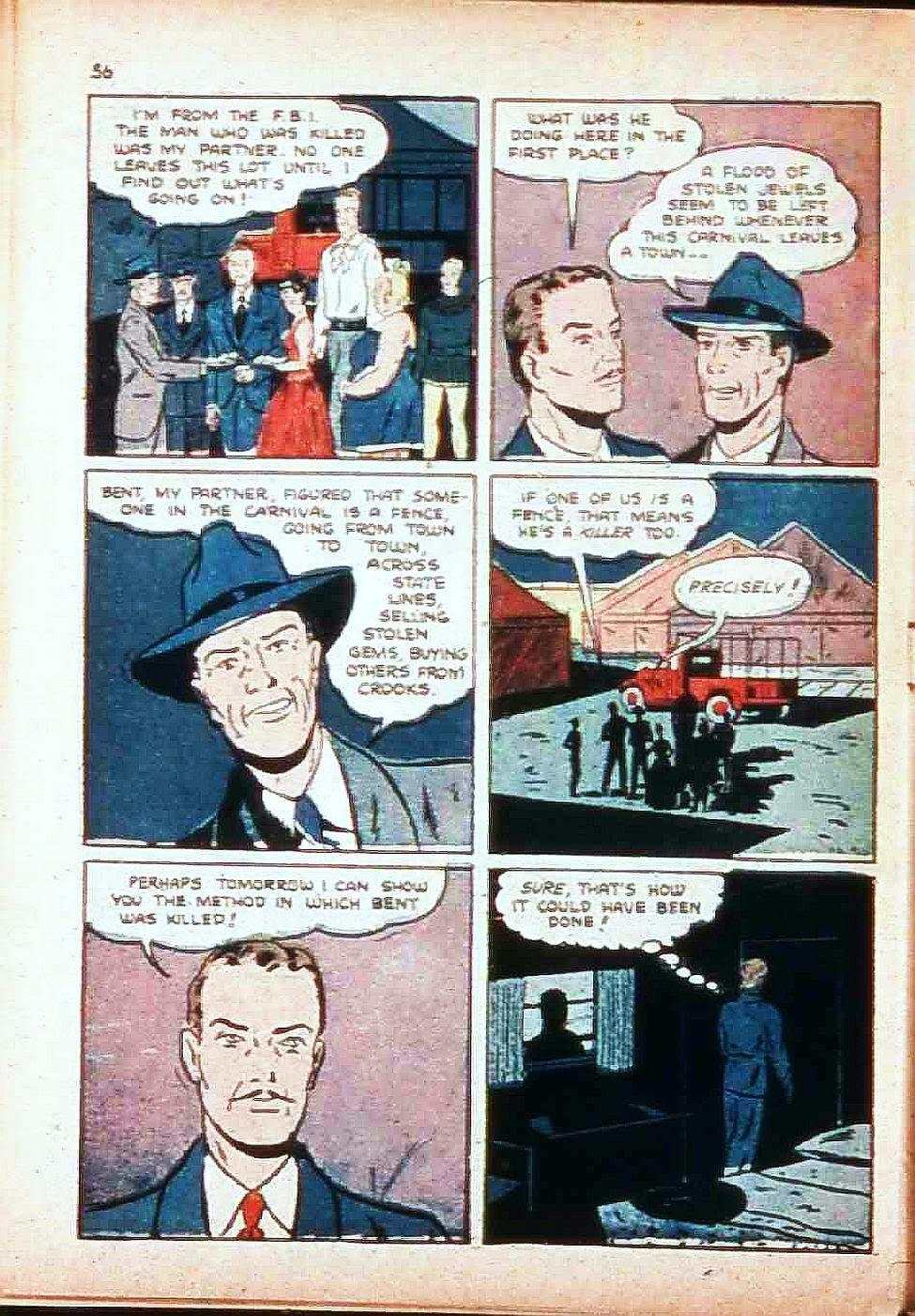 Read online Super-Magician Comics comic -  Issue #17 - 55