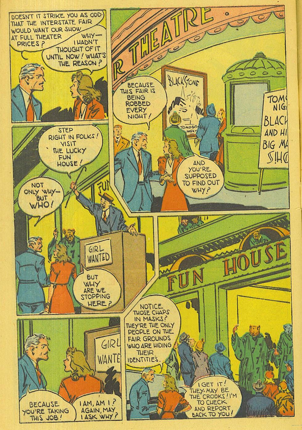 Read online Super-Magician Comics comic -  Issue #42 - 43