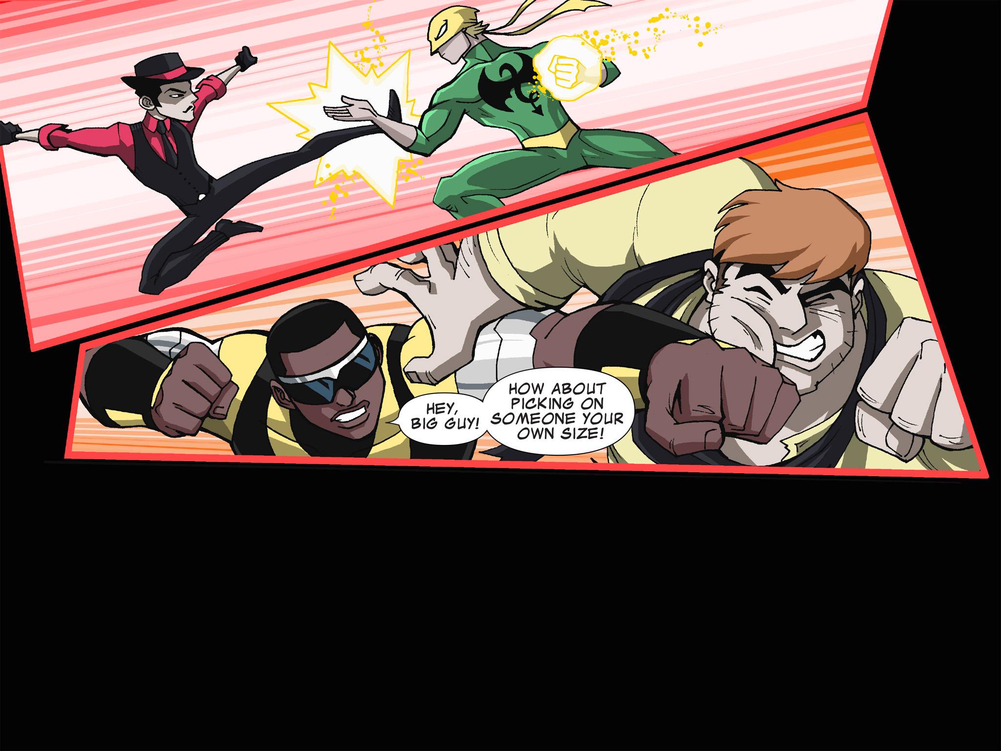 Read online Ultimate Spider-Man (Infinite Comics) (2015) comic -  Issue #19 - 22
