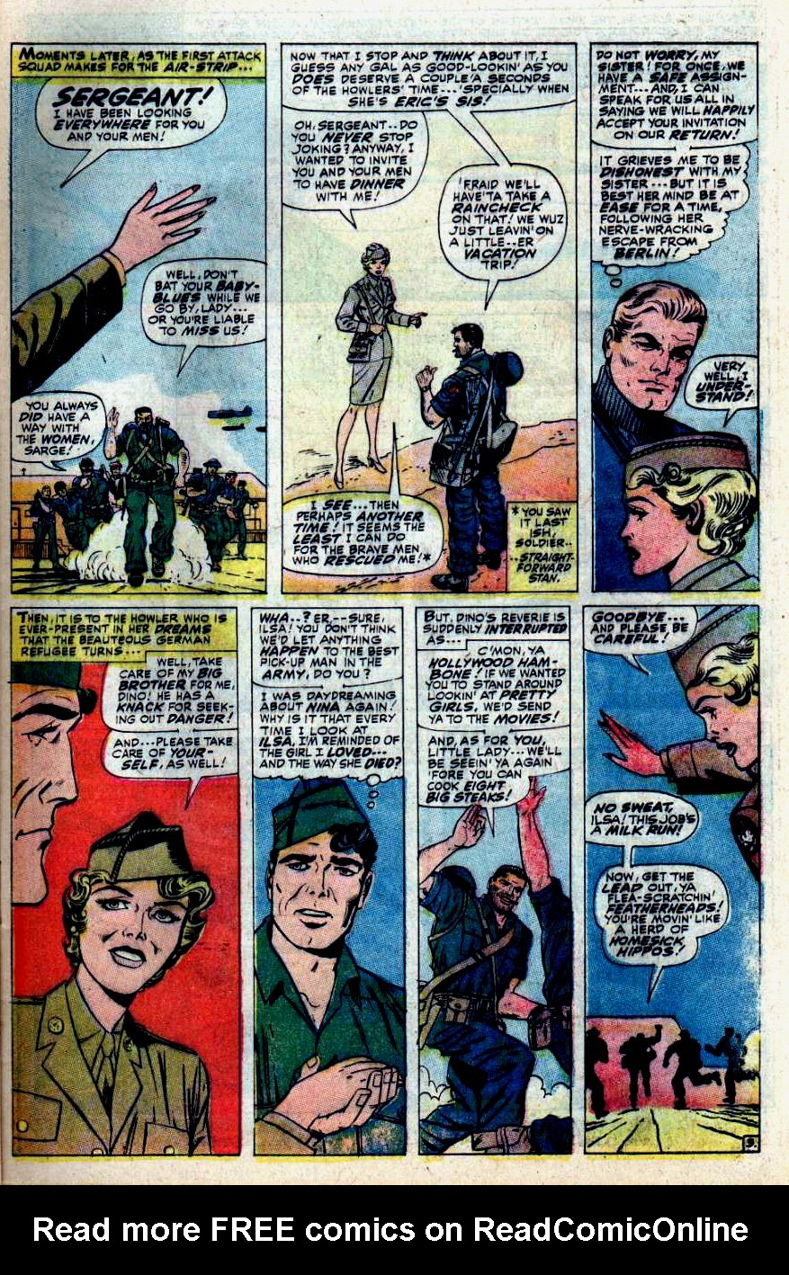 Read online Sgt. Fury comic -  Issue #43 - 5
