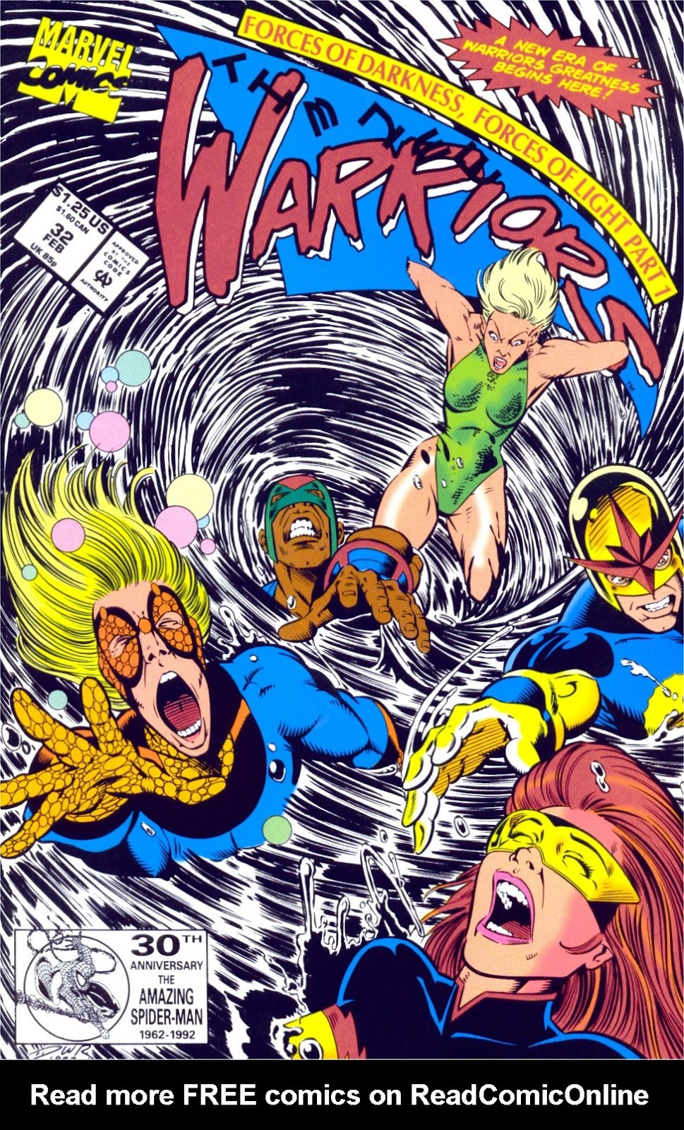 The New Warriors Issue #32 #36 - English 1
