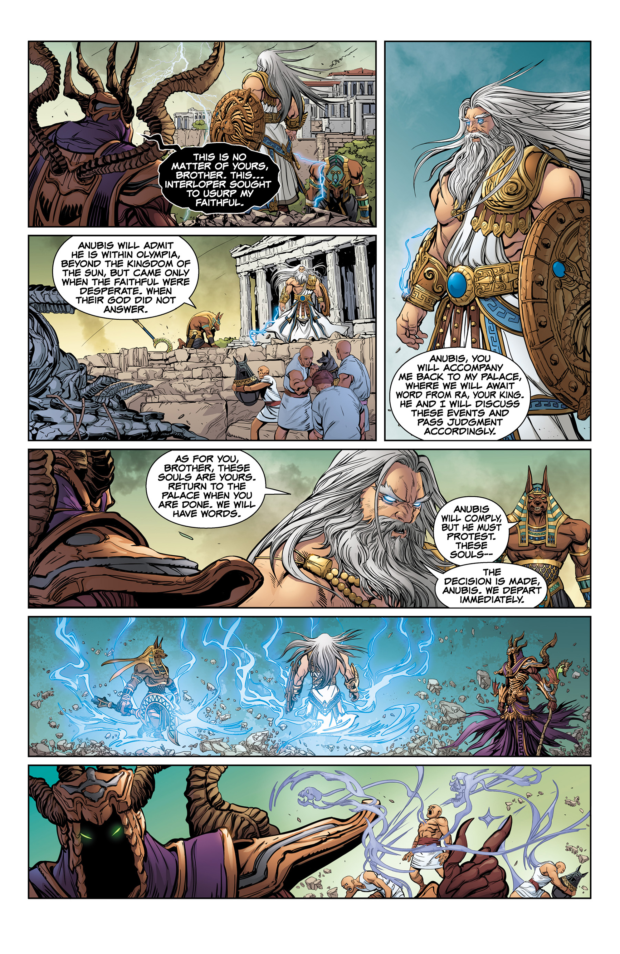 Read online SMITE: The Pantheon War comic -  Issue #1 - 10