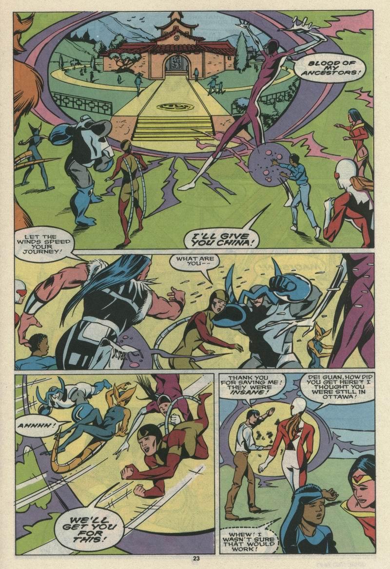 Read online Alpha Flight (1983) comic -  Issue #69 - 25