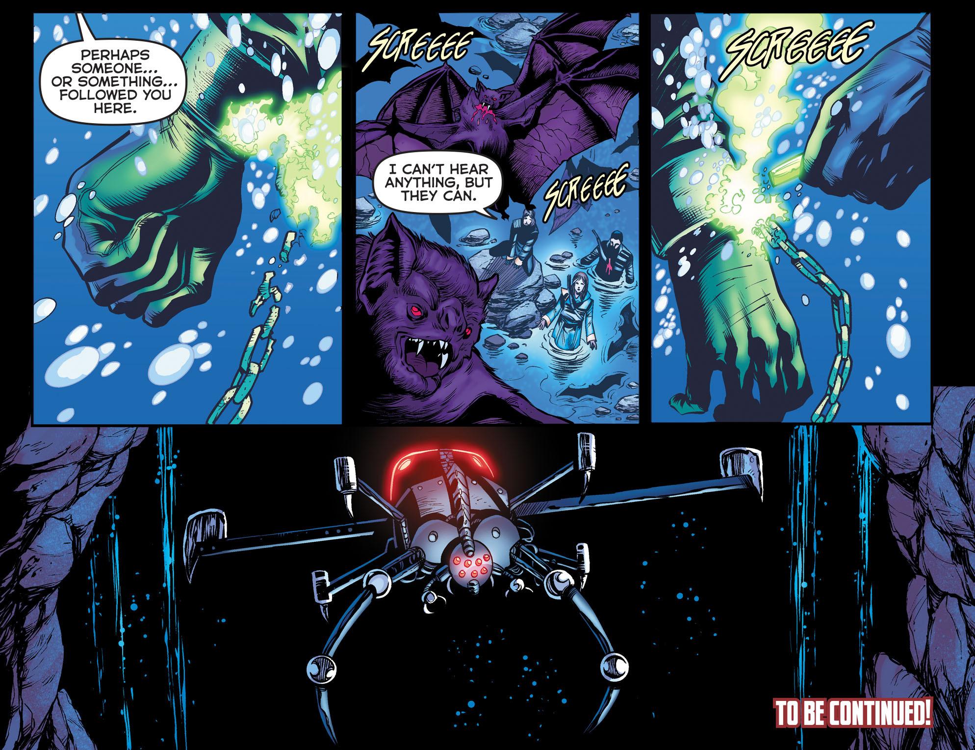 Read online Arrow: The Dark Archer comic -  Issue #9 - 22