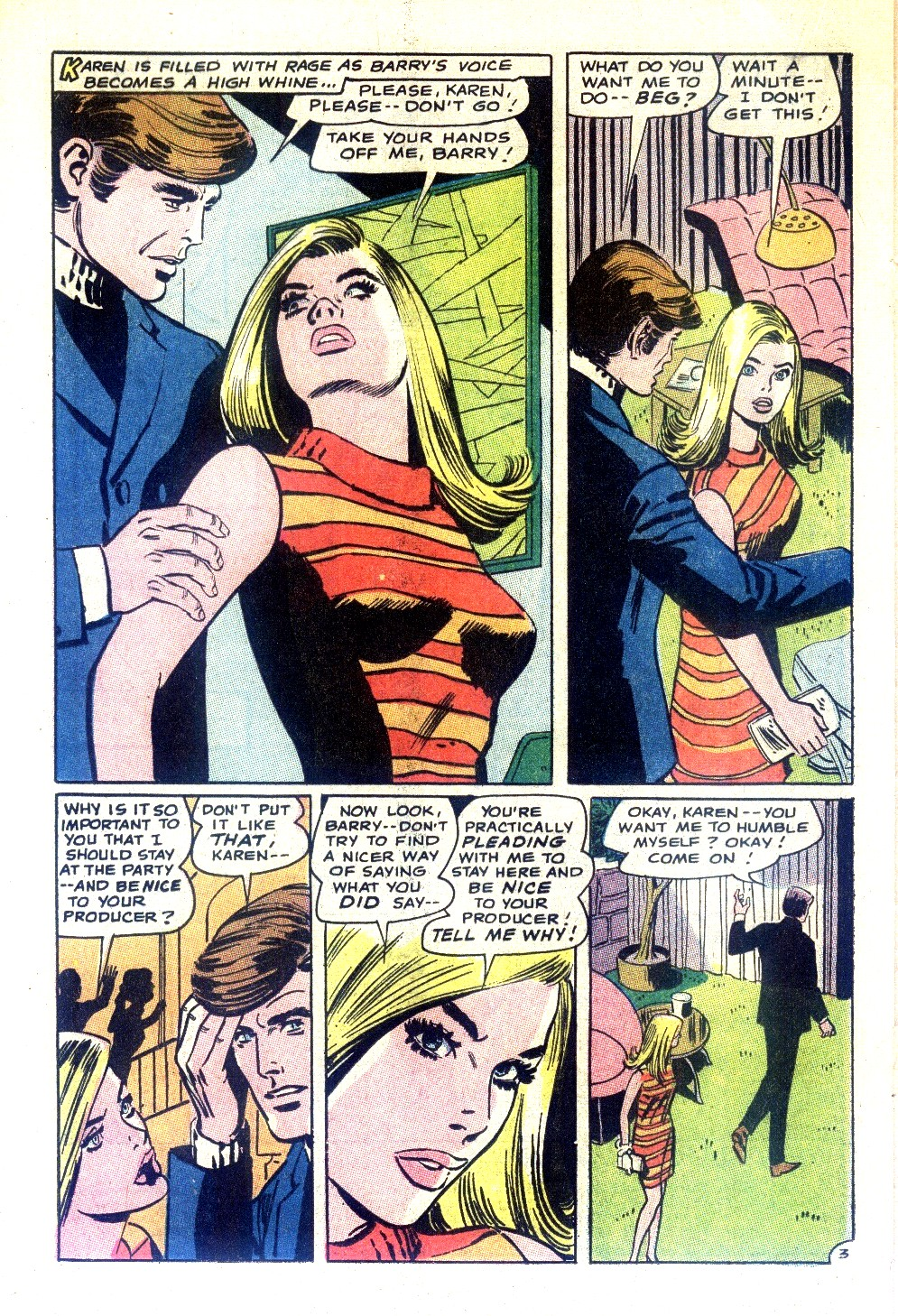 Read online Secret Hearts comic -  Issue #130 - 20