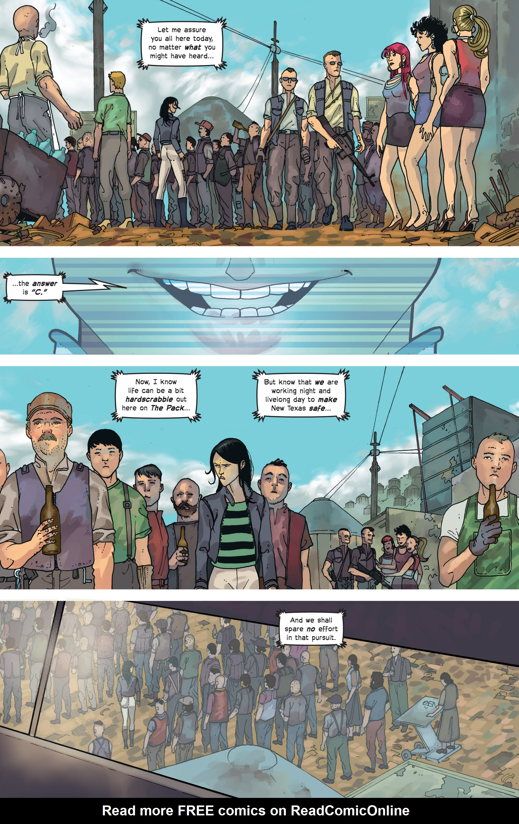 Read online Great Pacific comic -  Issue #8 - 12