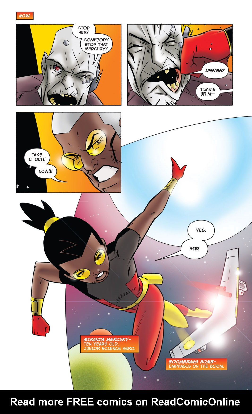 Read online The Many Adventures of Miranda Mercury: Time Runs Out comic -  Issue # TPB - 3