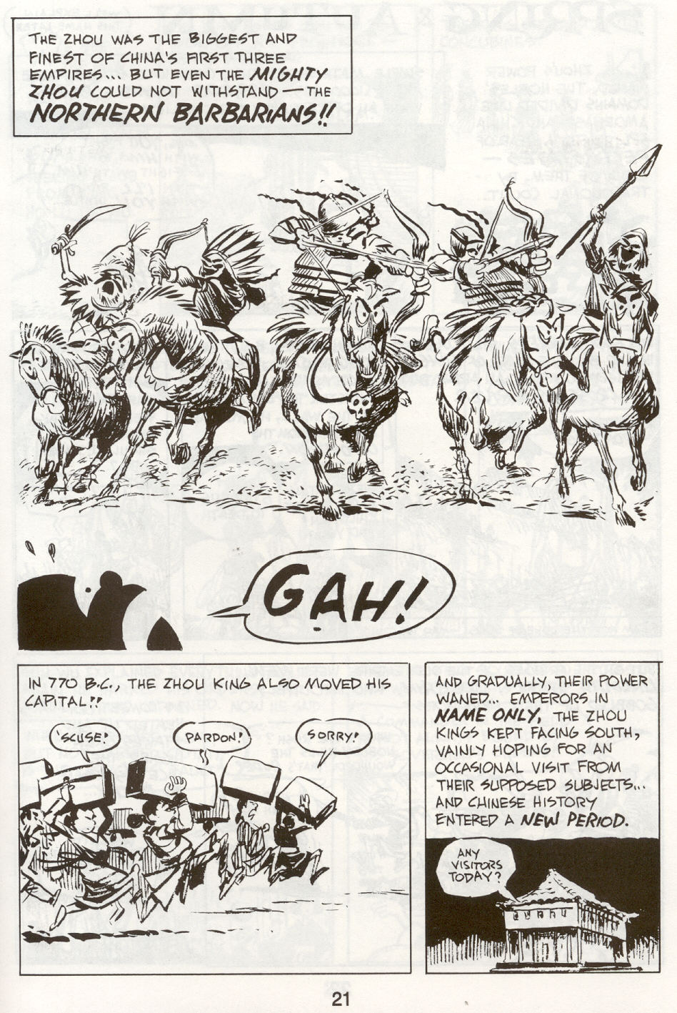 Read online The Cartoon History of the Universe comic -  Issue #9 - 24
