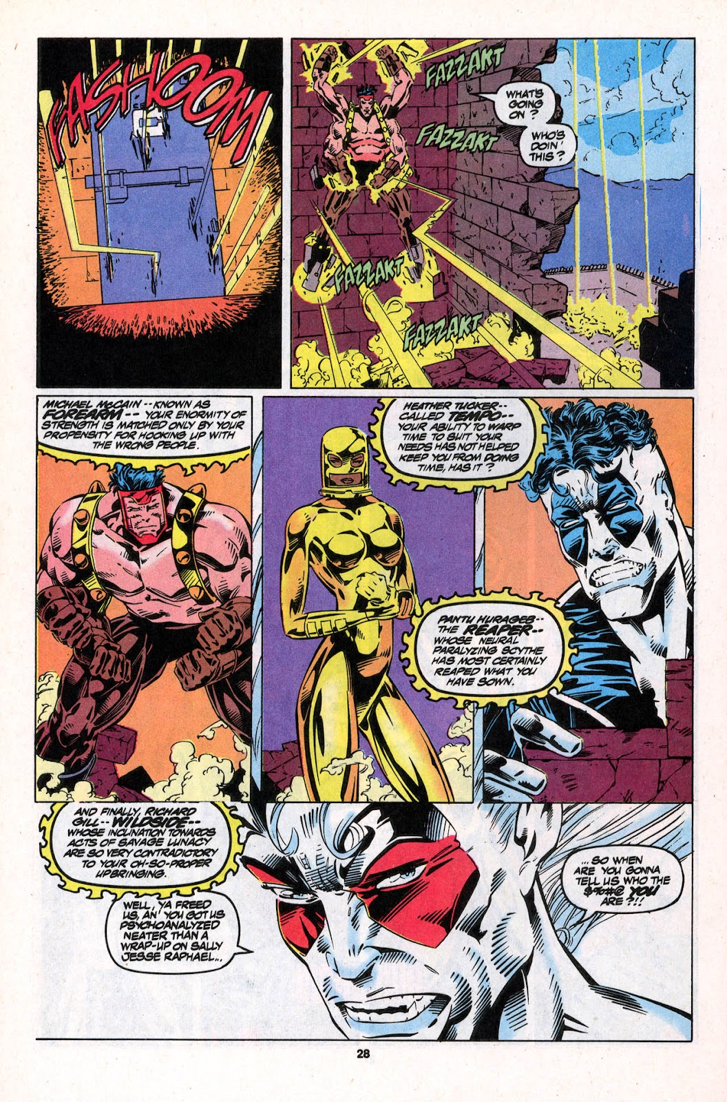 X-Force (1991) Issue #26 #31 - English 28