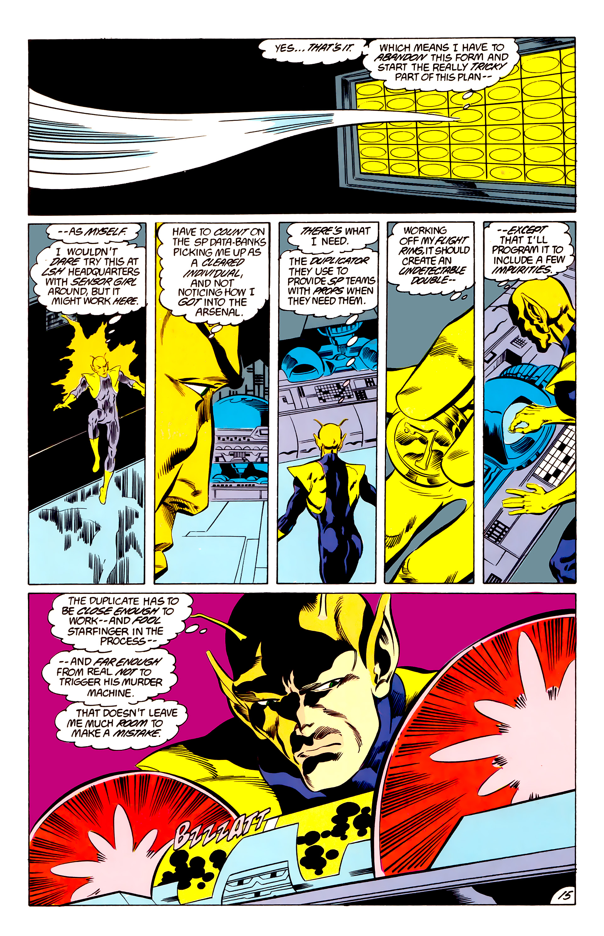 Legion of Super-Heroes (1984) 48 Page 15