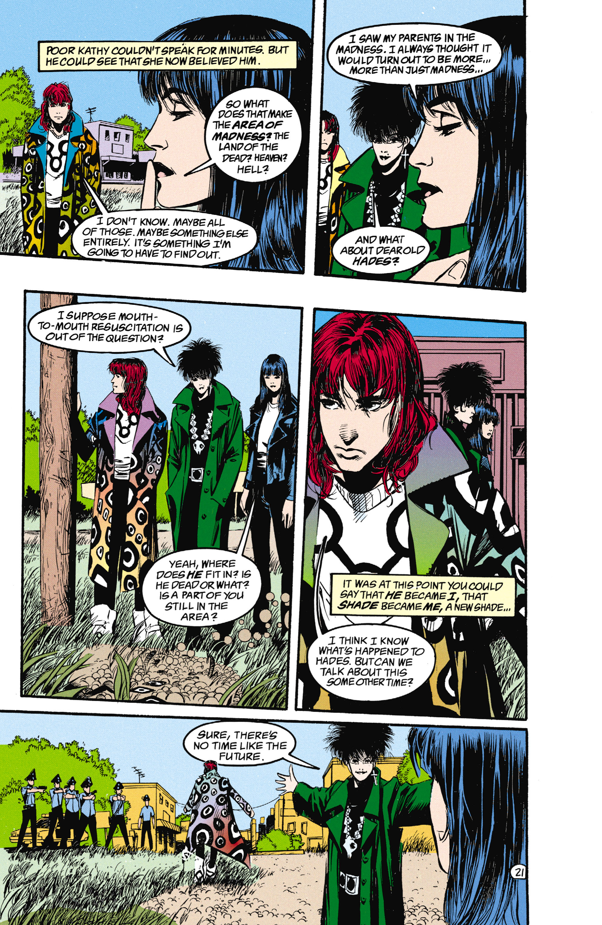 Read online Shade, the Changing Man comic -  Issue #25 - 22