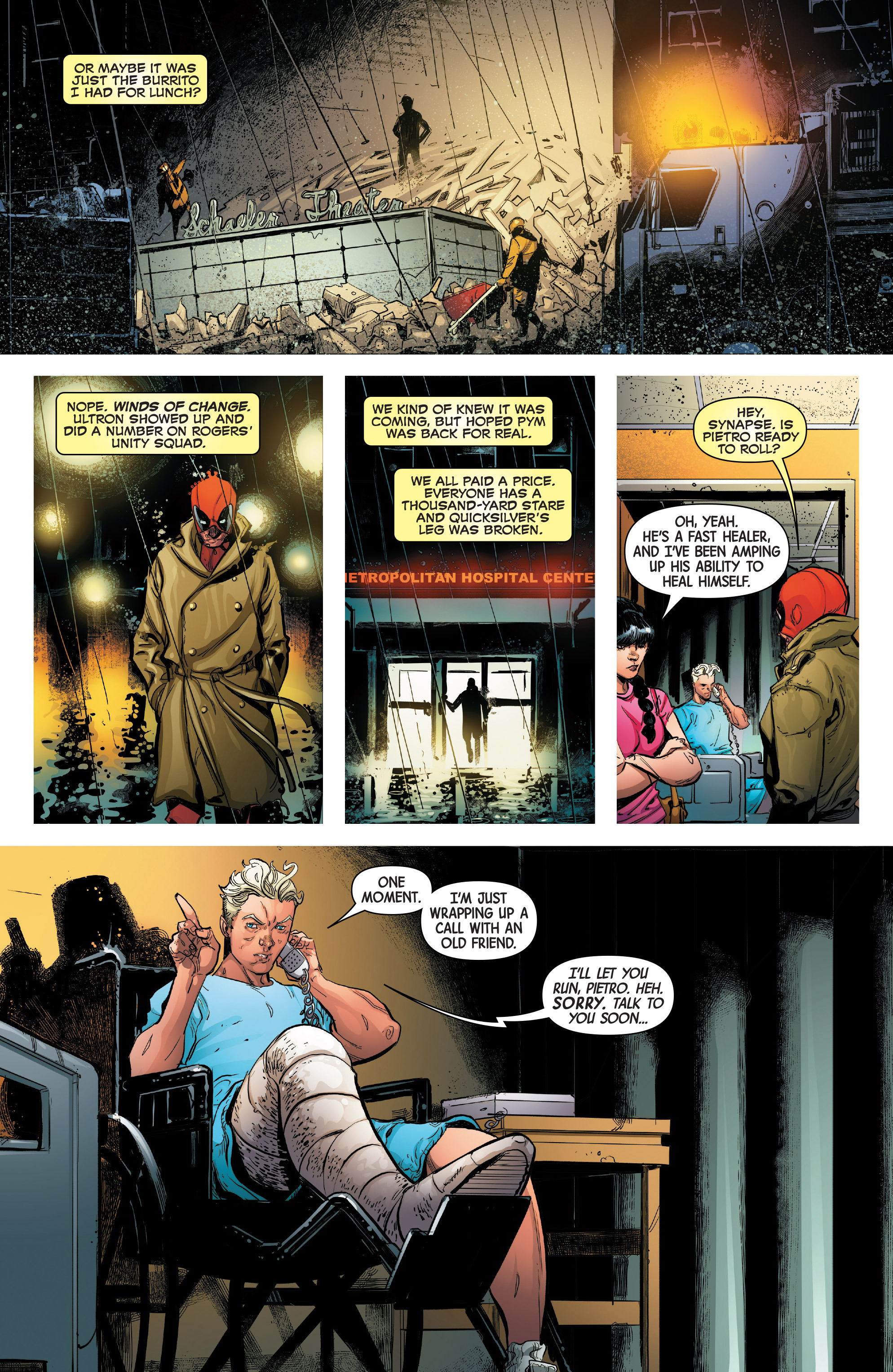 Read online Uncanny Avengers [II] comic -  Issue #14 - 4