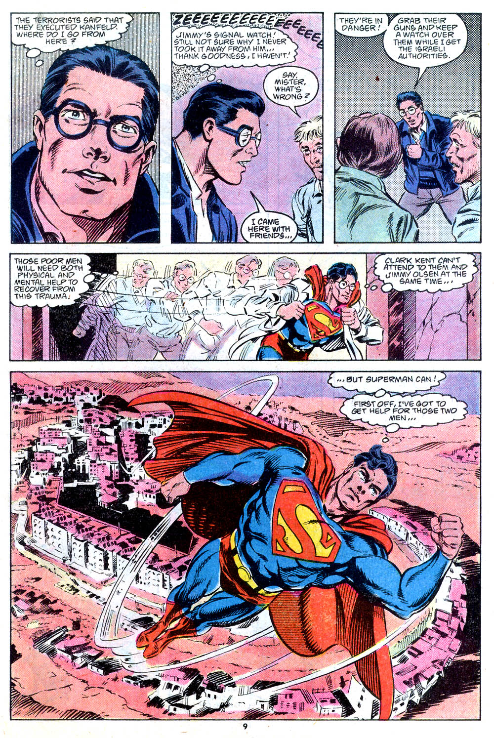 Read online Adventures of Superman (1987) comic -  Issue #443 - 10