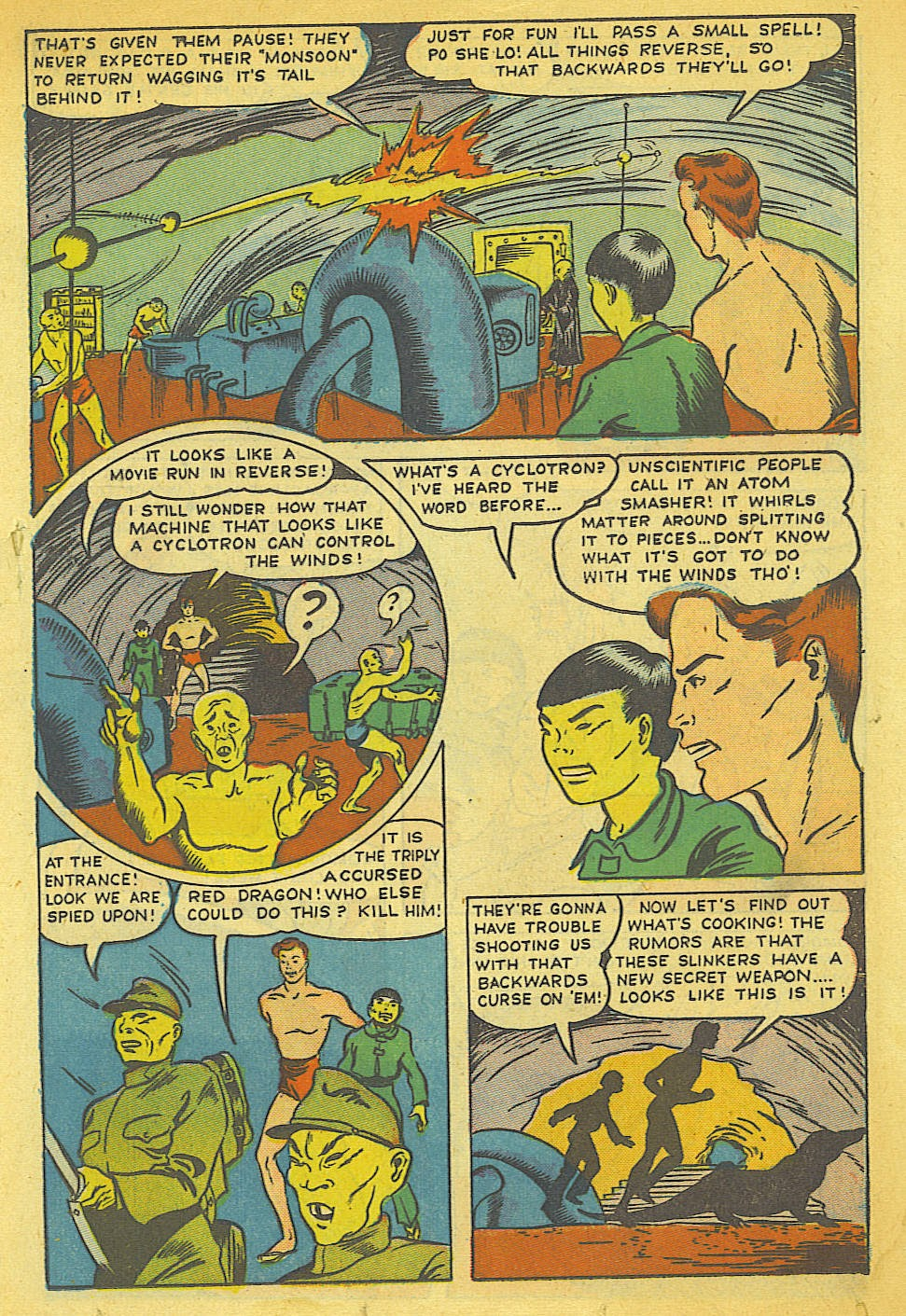 Read online Super-Magician Comics comic -  Issue #40 - 27