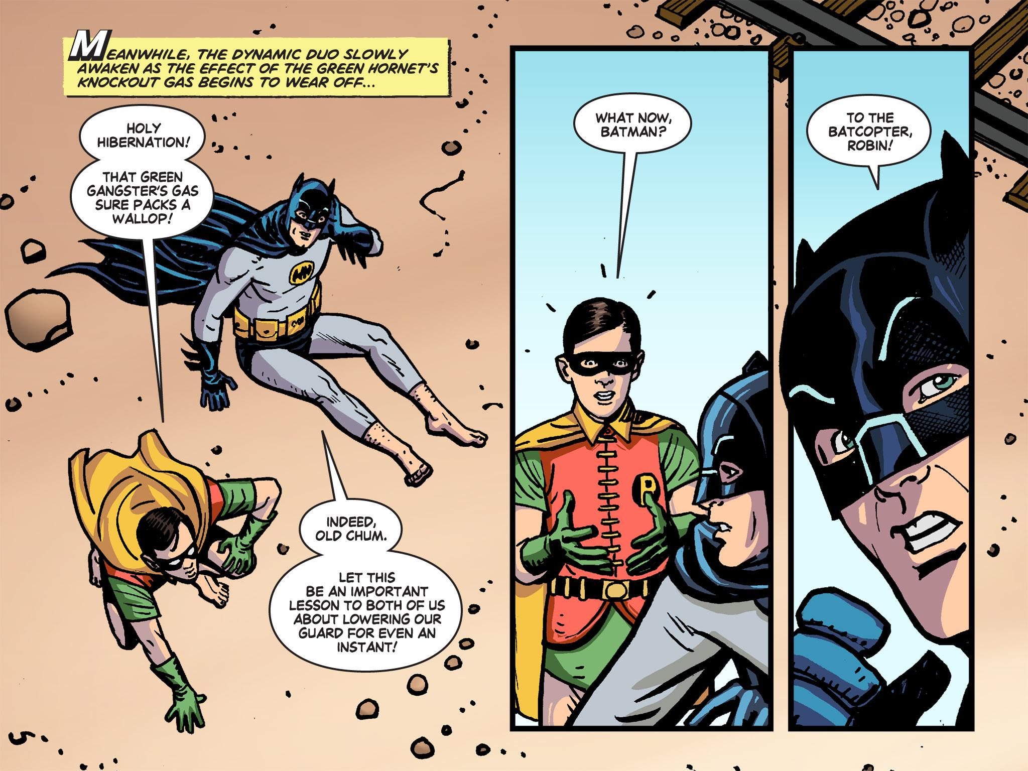 Read online Batman '66 Meets the Green Hornet [II] comic -  Issue #4 - 32