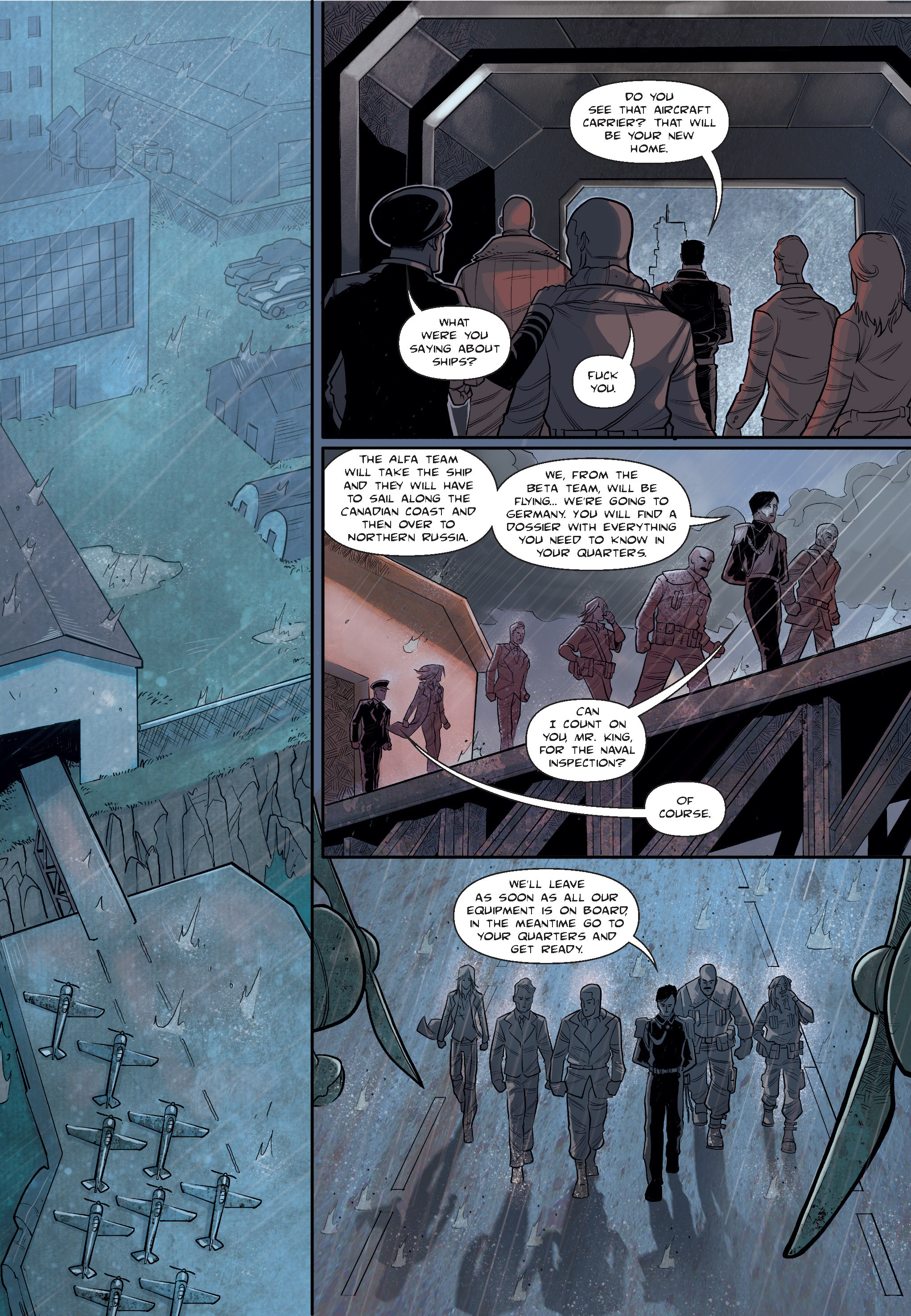 Read online The Shadow of a Terrible Thing comic -  Issue # TPB - 38