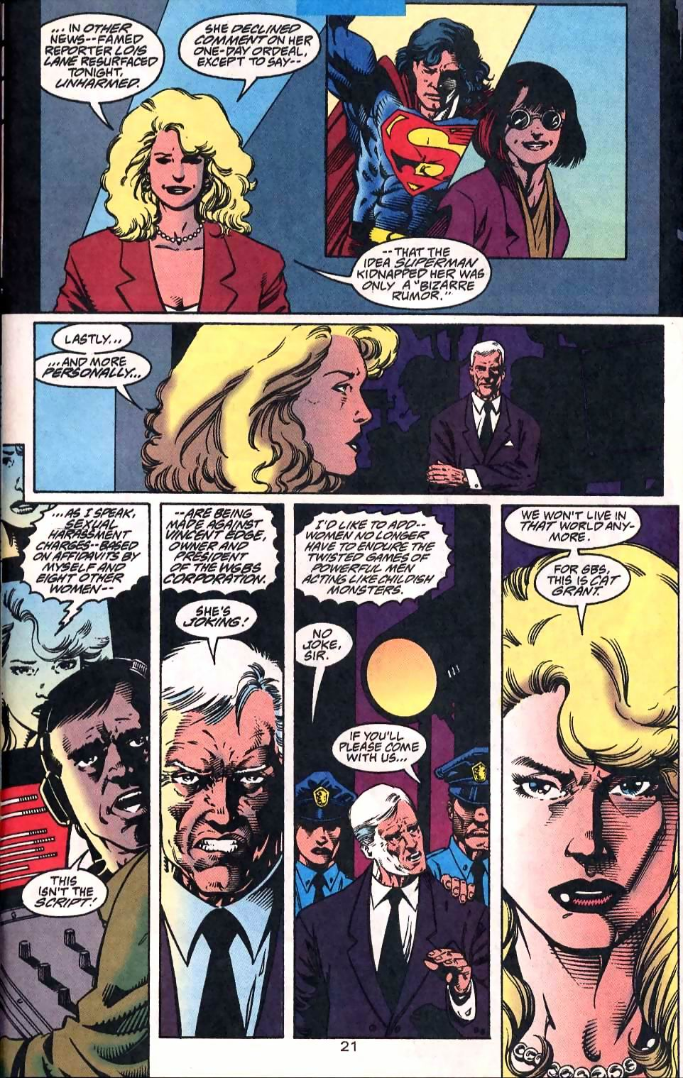 Read online Adventures of Superman (1987) comic -  Issue #510 - 22