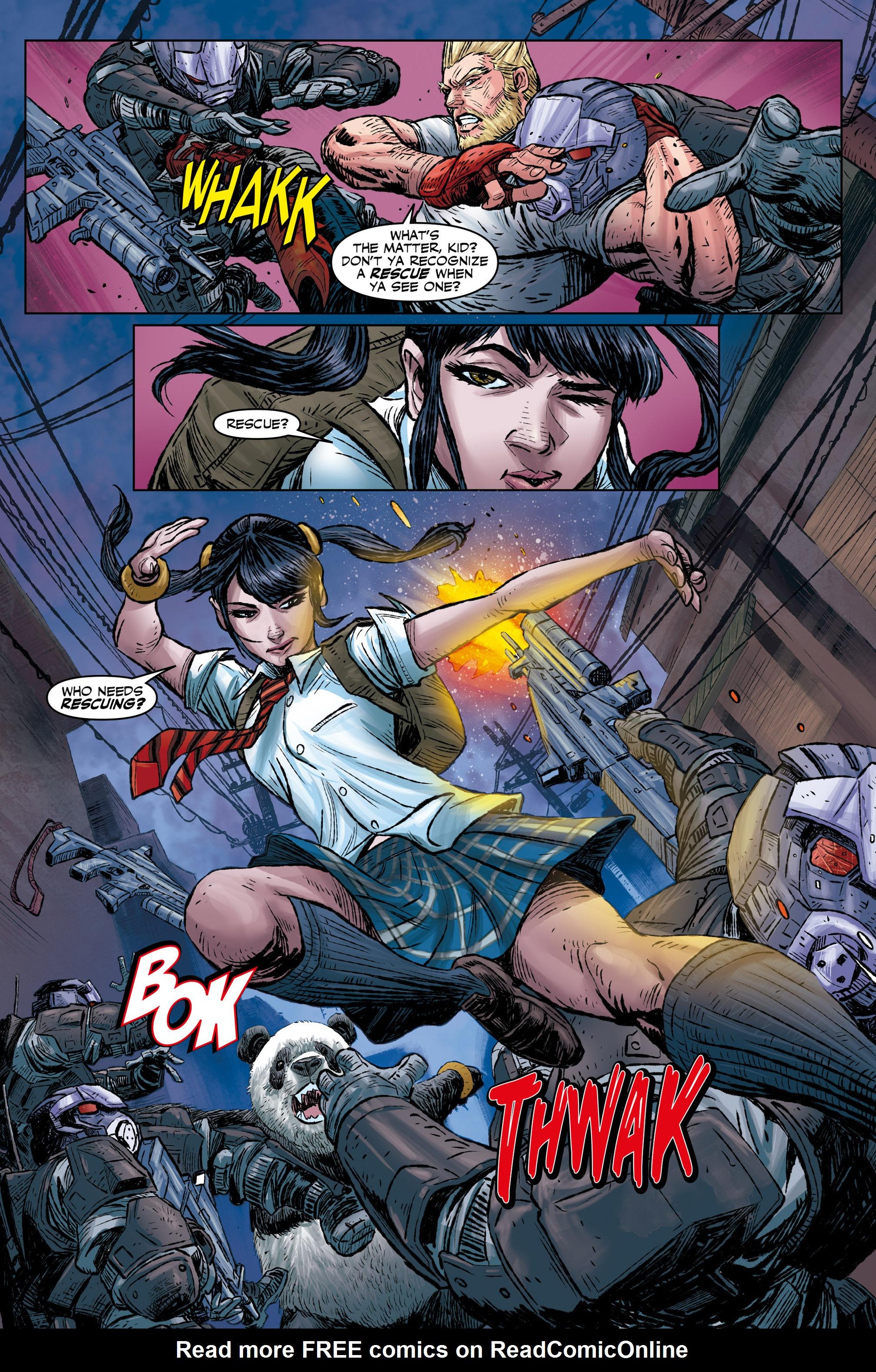 Read online Tekken comic -  Issue #1 - 14