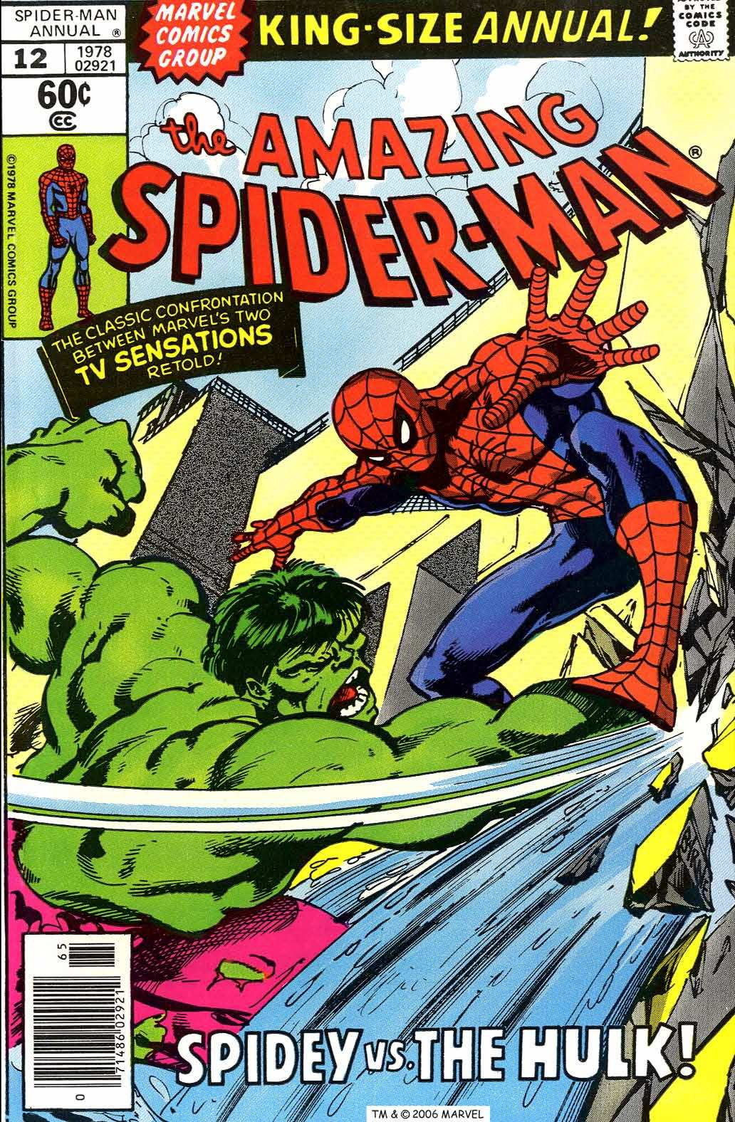 The Amazing Spider-Man (1963) _Annual_12 Page 1