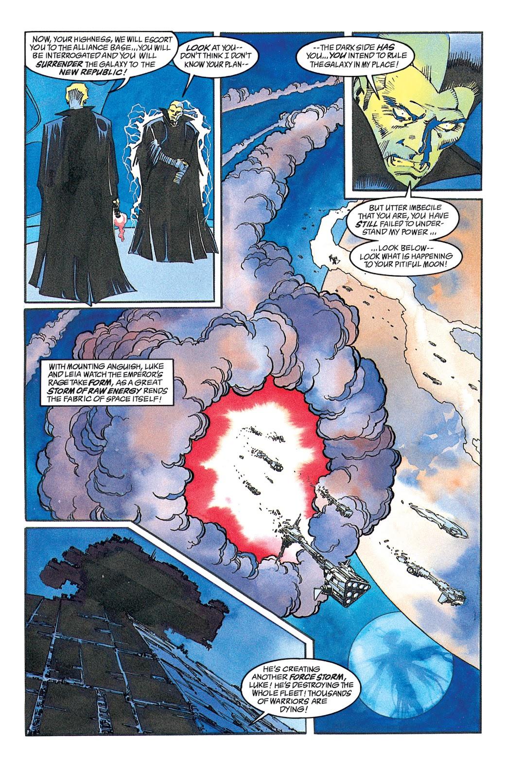 Read online Star Wars: Dark Empire Trilogy comic -  Issue # TPB (Part 2) - 52