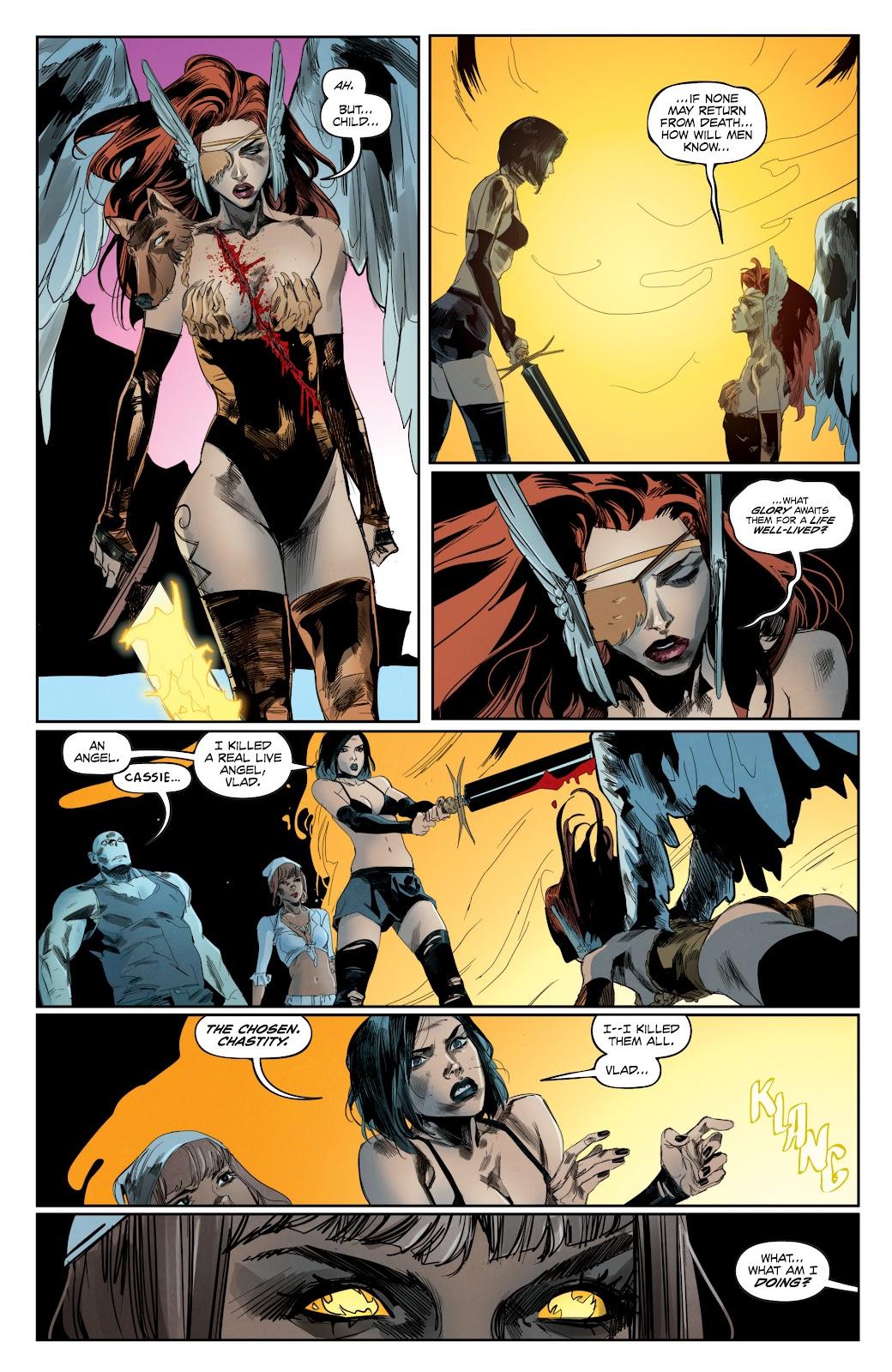 Read online Hack/Slash vs. Chaos comic -  Issue #4 - 8