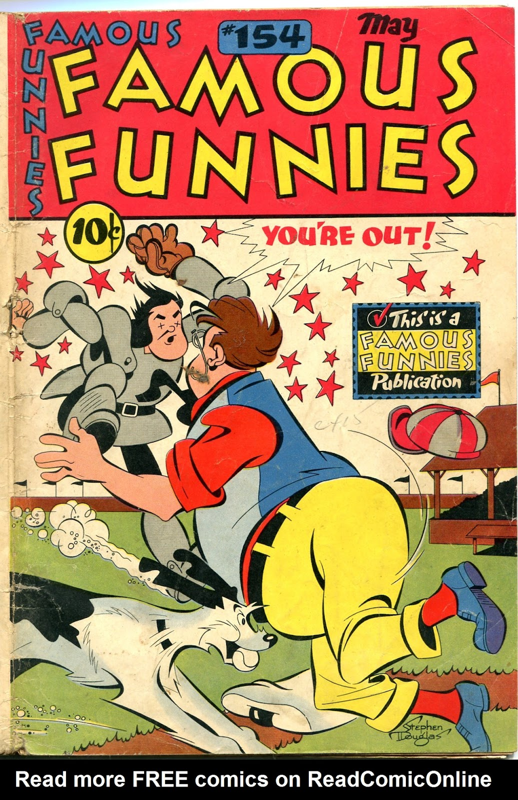 Read online Famous Funnies comic -  Issue #154 - 1