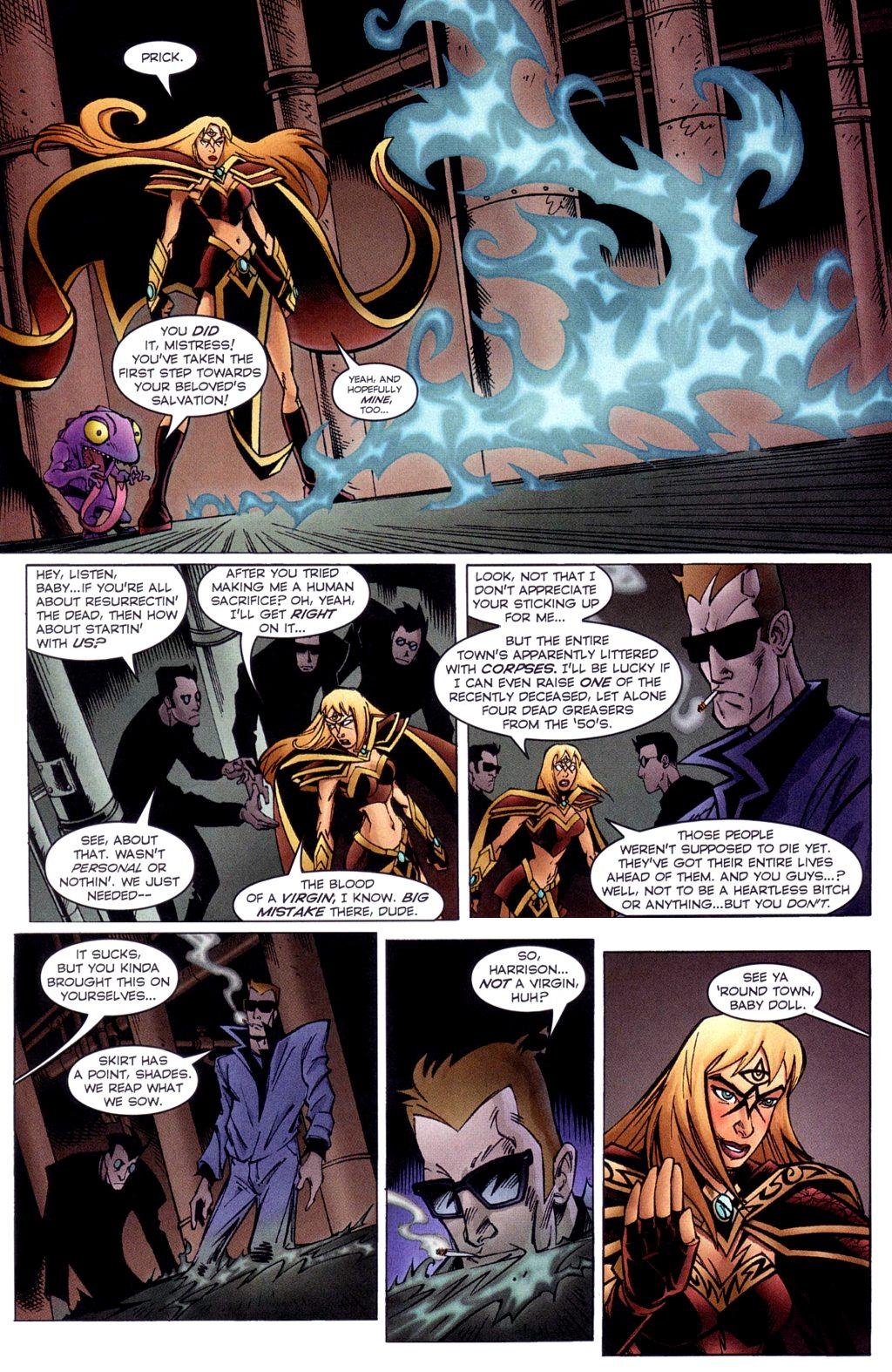 Read online Jezebelle comic -  Issue #3 - 15