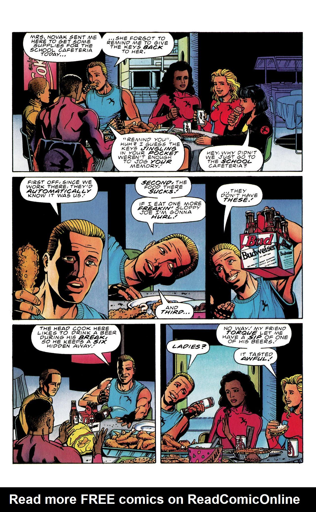 Read online Harbinger (1992) comic -  Issue #30 - 14
