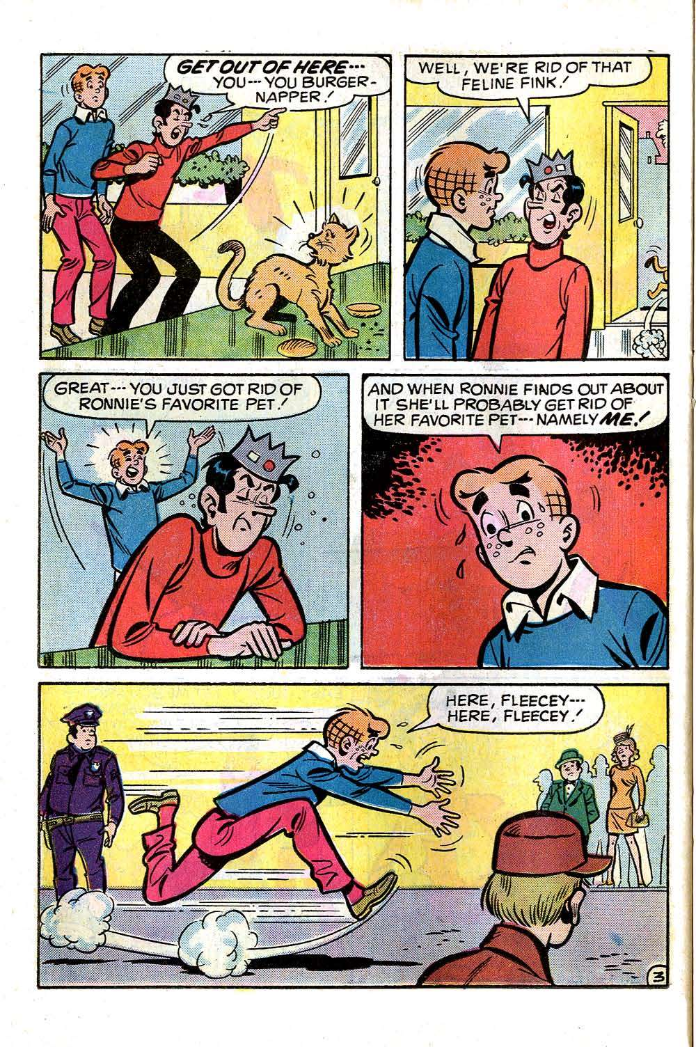 Read online Archie (1960) comic -  Issue #256 - 22