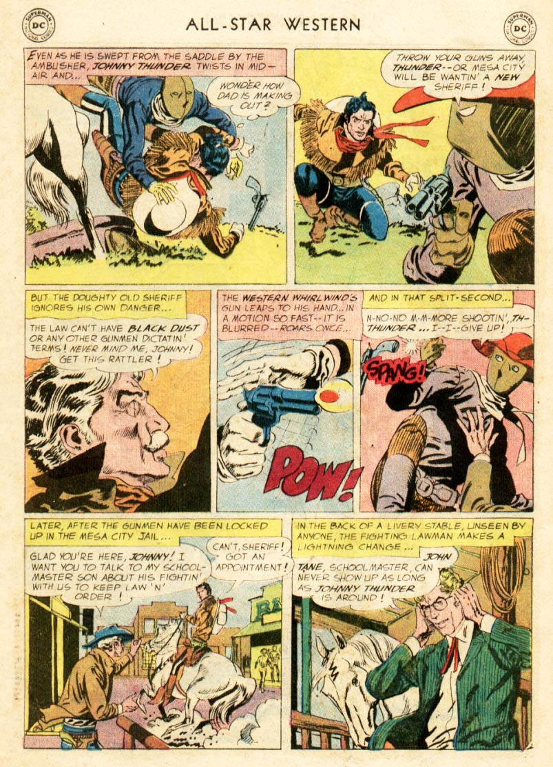 Read online All-Star Western (1951) comic -  Issue #97 - 24