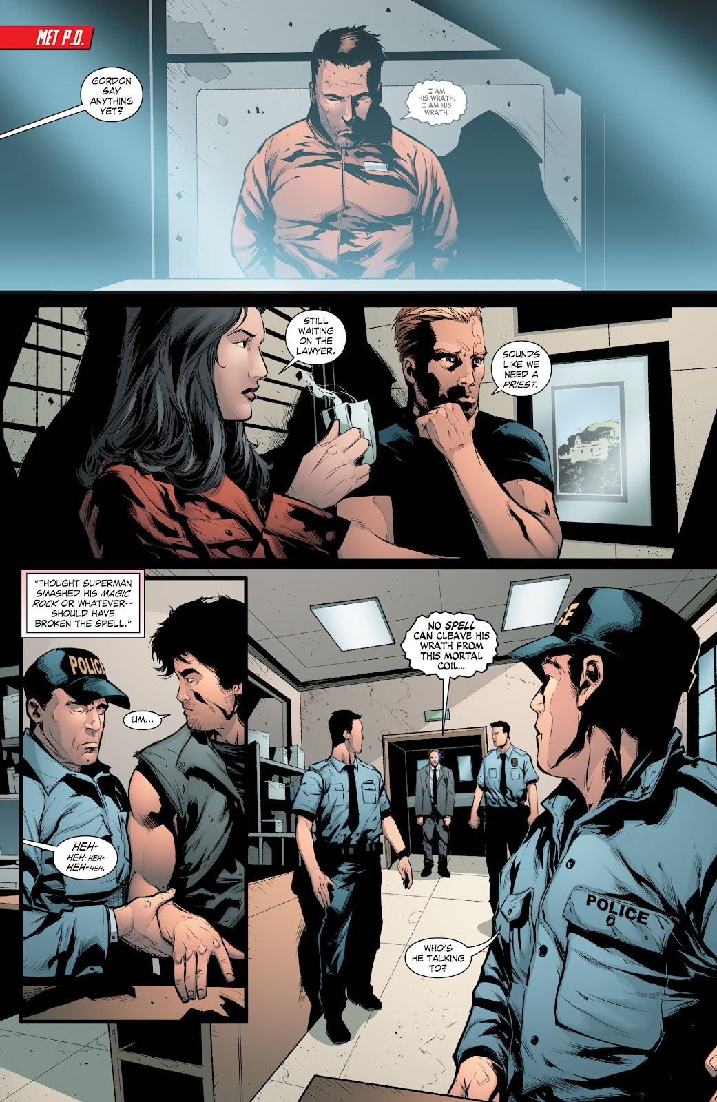 Read online Smallville Season 11 [II] comic -  Issue # TPB 8 - 71