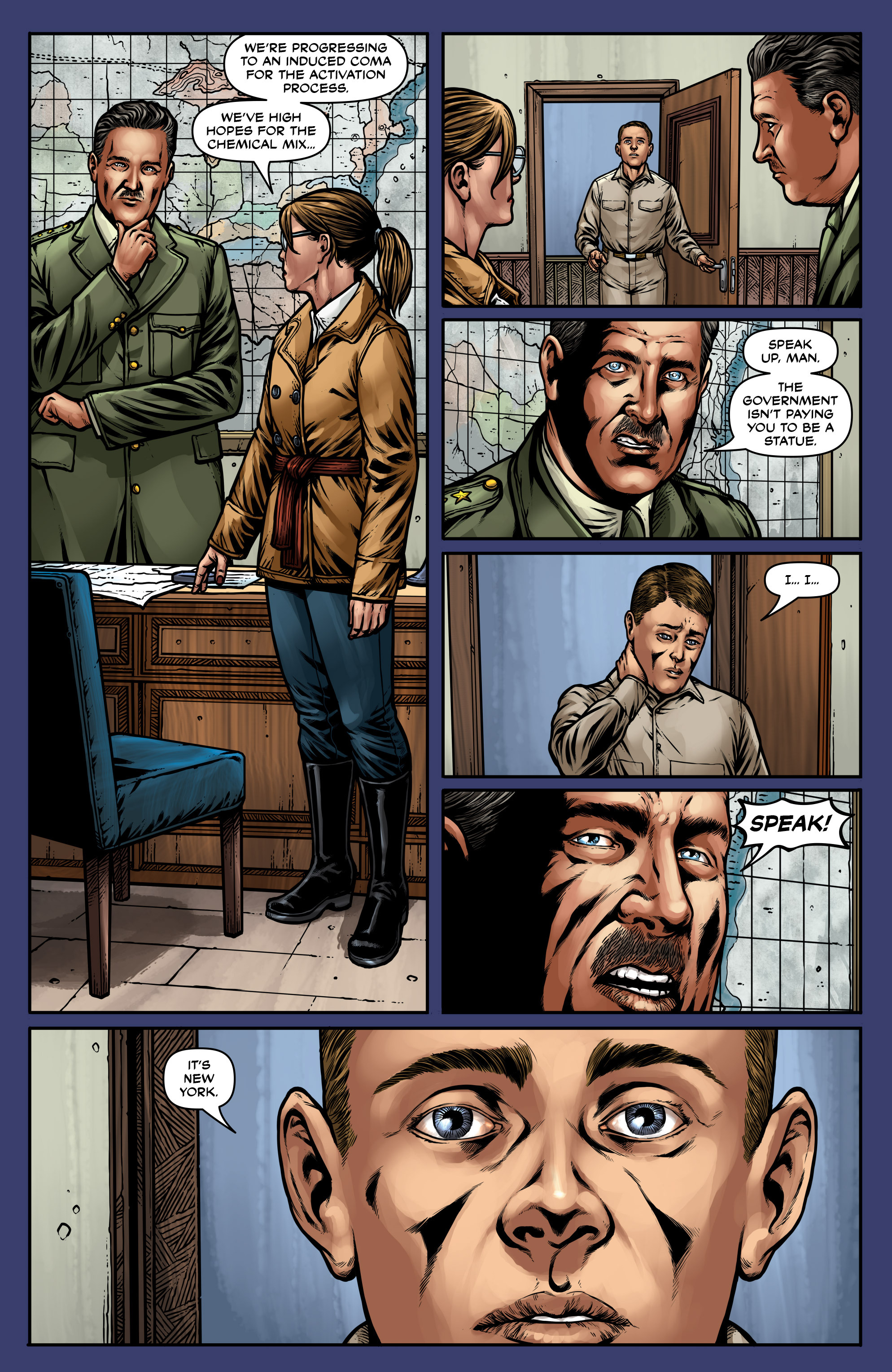 Read online Uber: Invasion comic -  Issue #5 - 19