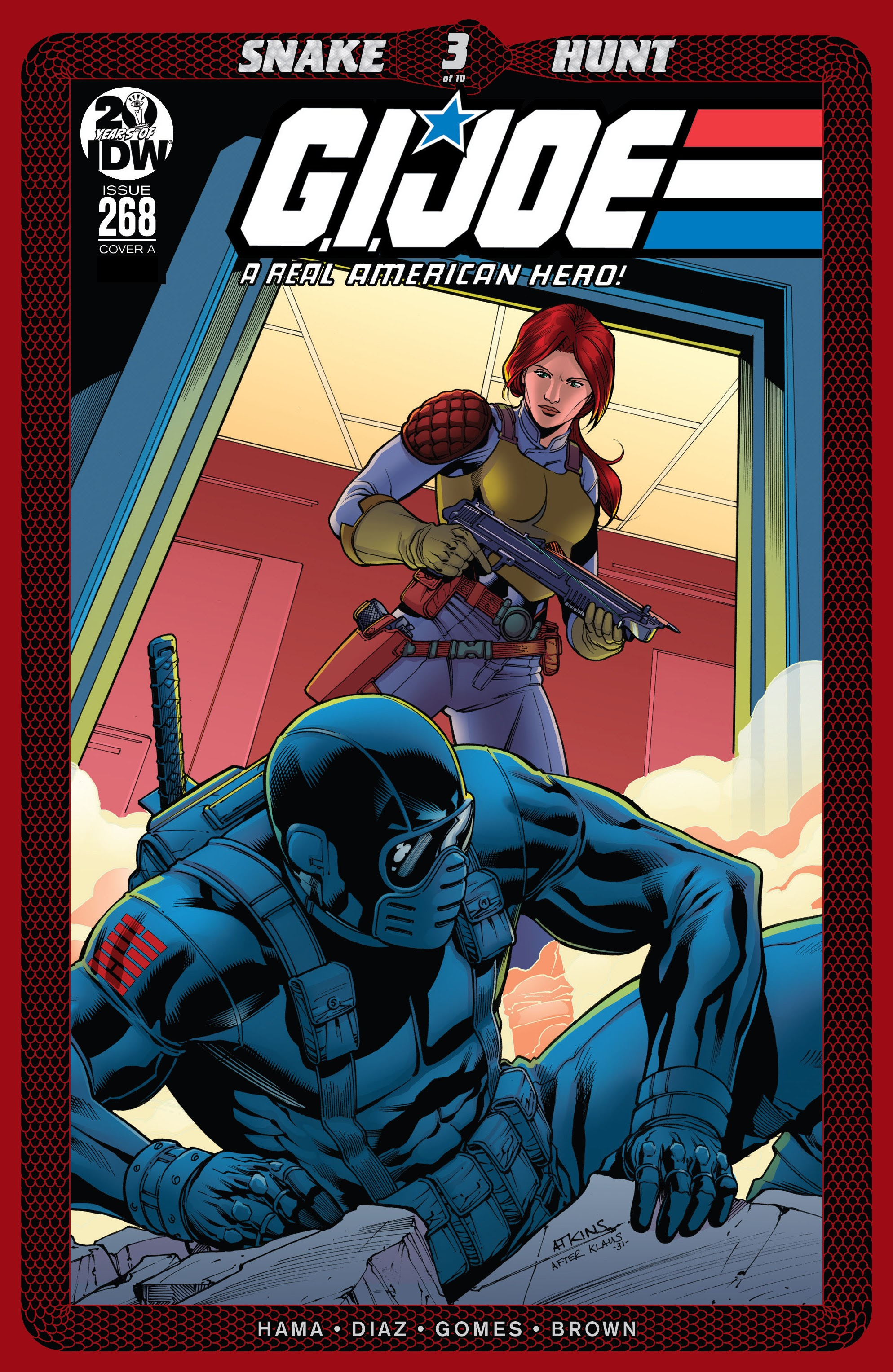 G.I. Joe: A Real American Hero issue 268 - Page 1