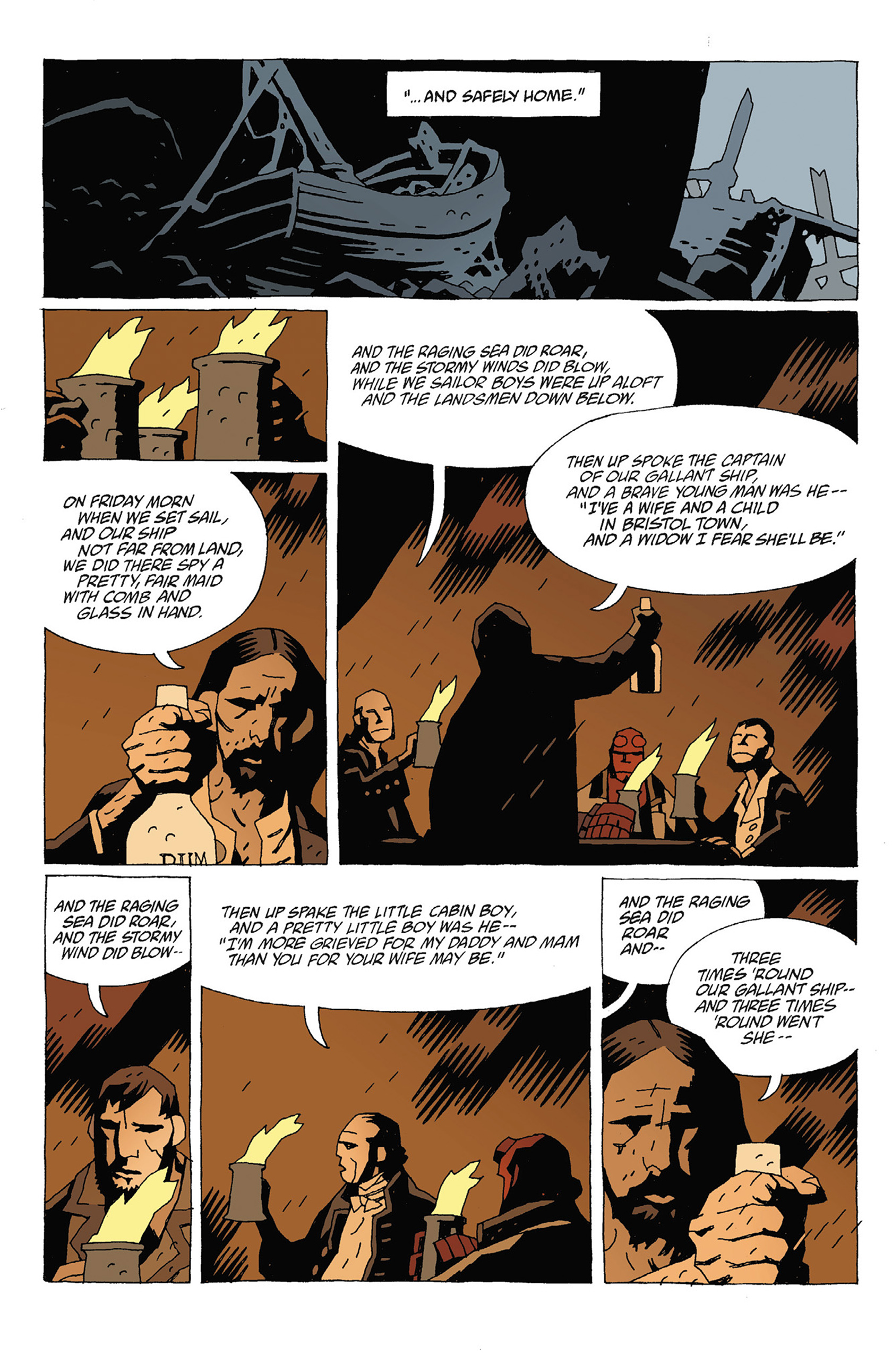 Read online Hellboy: Strange Places comic -  Issue # TPB - 72