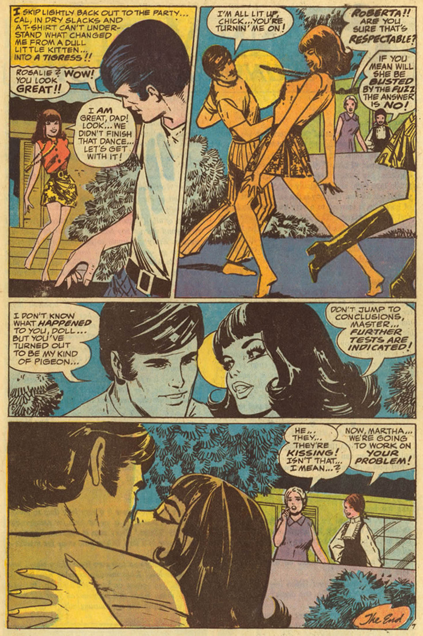 Read online Secret Hearts comic -  Issue #139 - 9