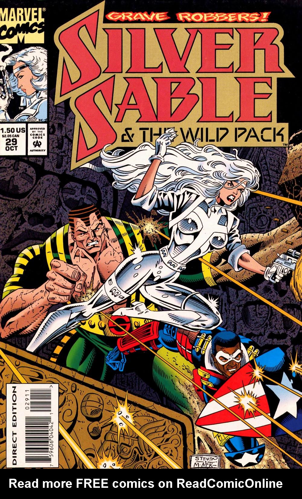 Read online Silver Sable and the Wild Pack comic -  Issue #29 - 1