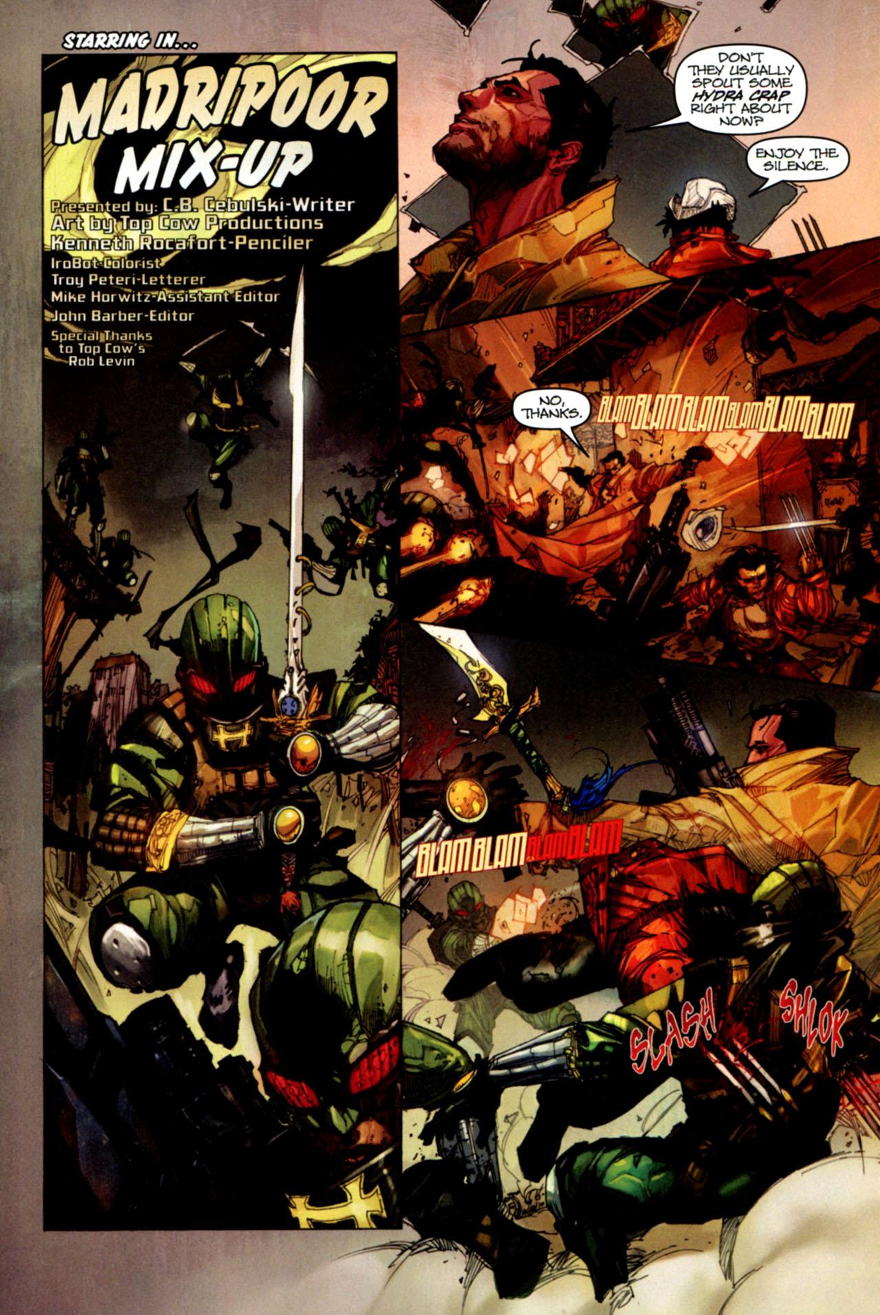 Read online Astonishing Tales (2009) comic -  Issue #1 - 7