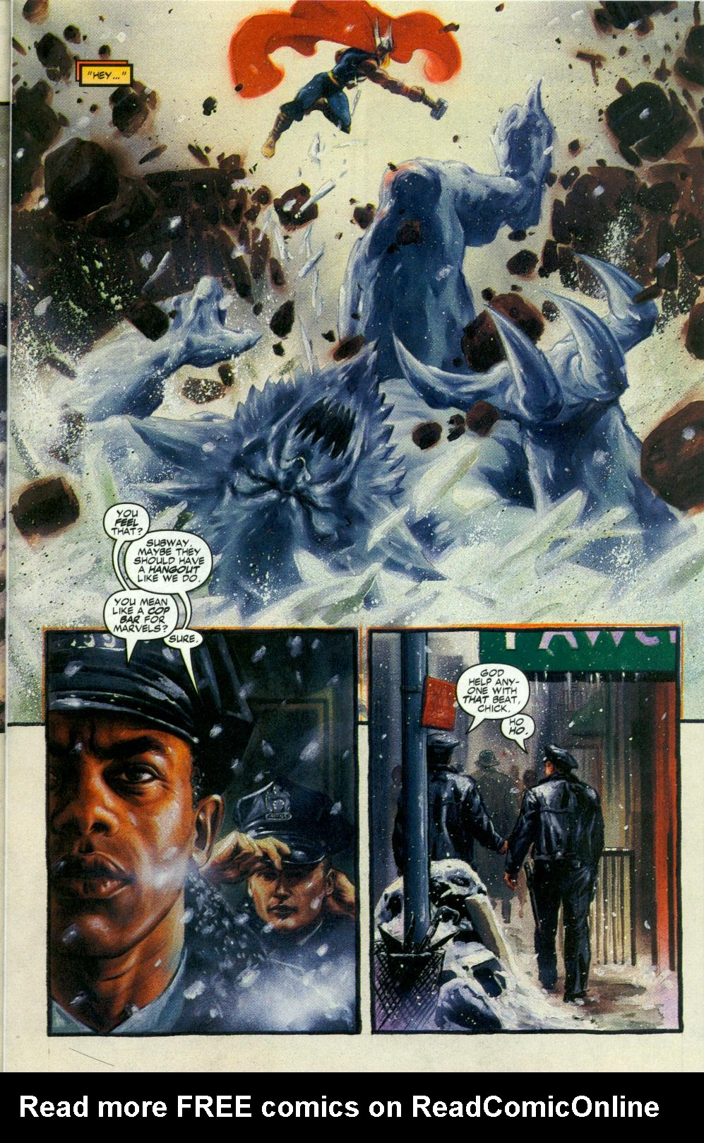 Read online Code of Honor comic -  Issue #3 - 8